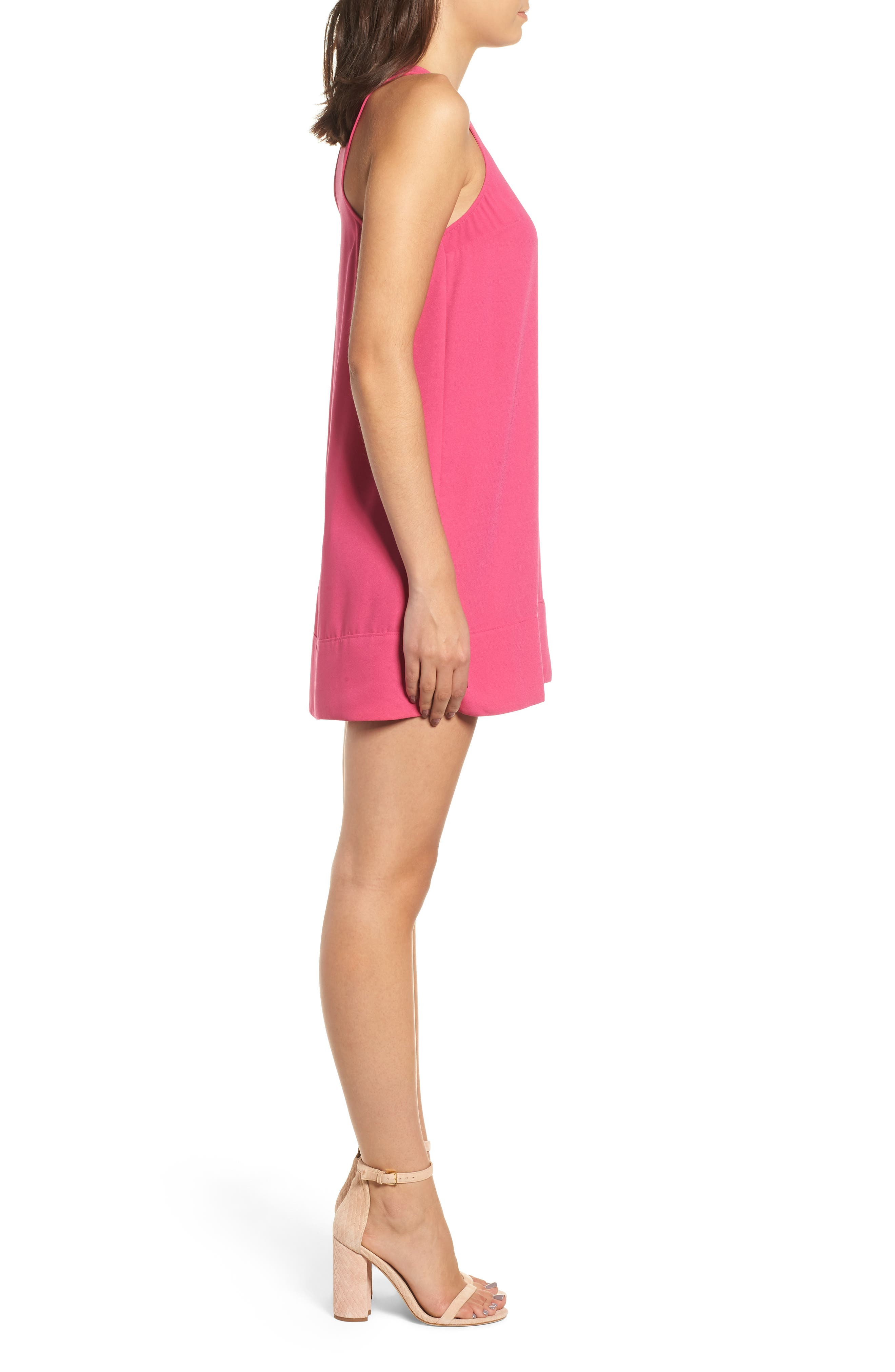 Racerback Shift Dress,                             Alternate thumbnail 102, color,