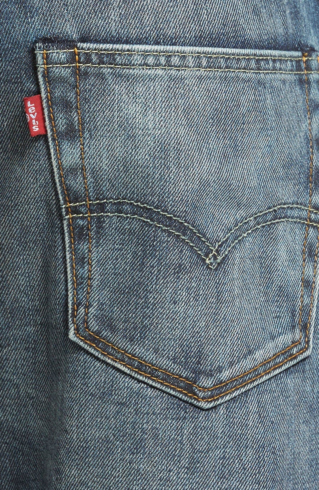LEVI'S<SUP>®</SUP>,                             '522<sup>™</sup>' Slim Tapered Fit Jeans,                             Alternate thumbnail 3, color,                             423