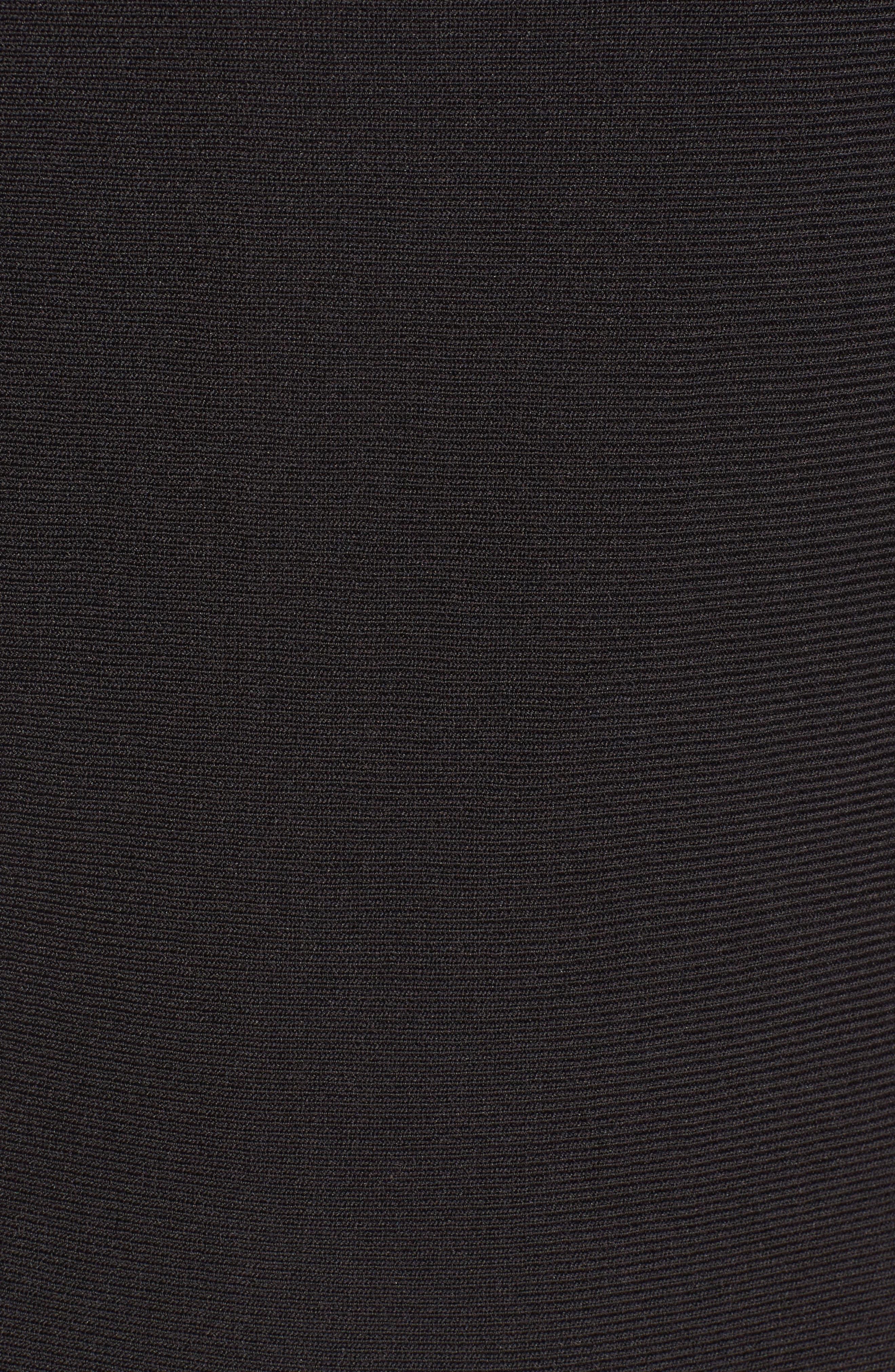 Time Out Twirl Midi Dress,                             Alternate thumbnail 5, color,                             004