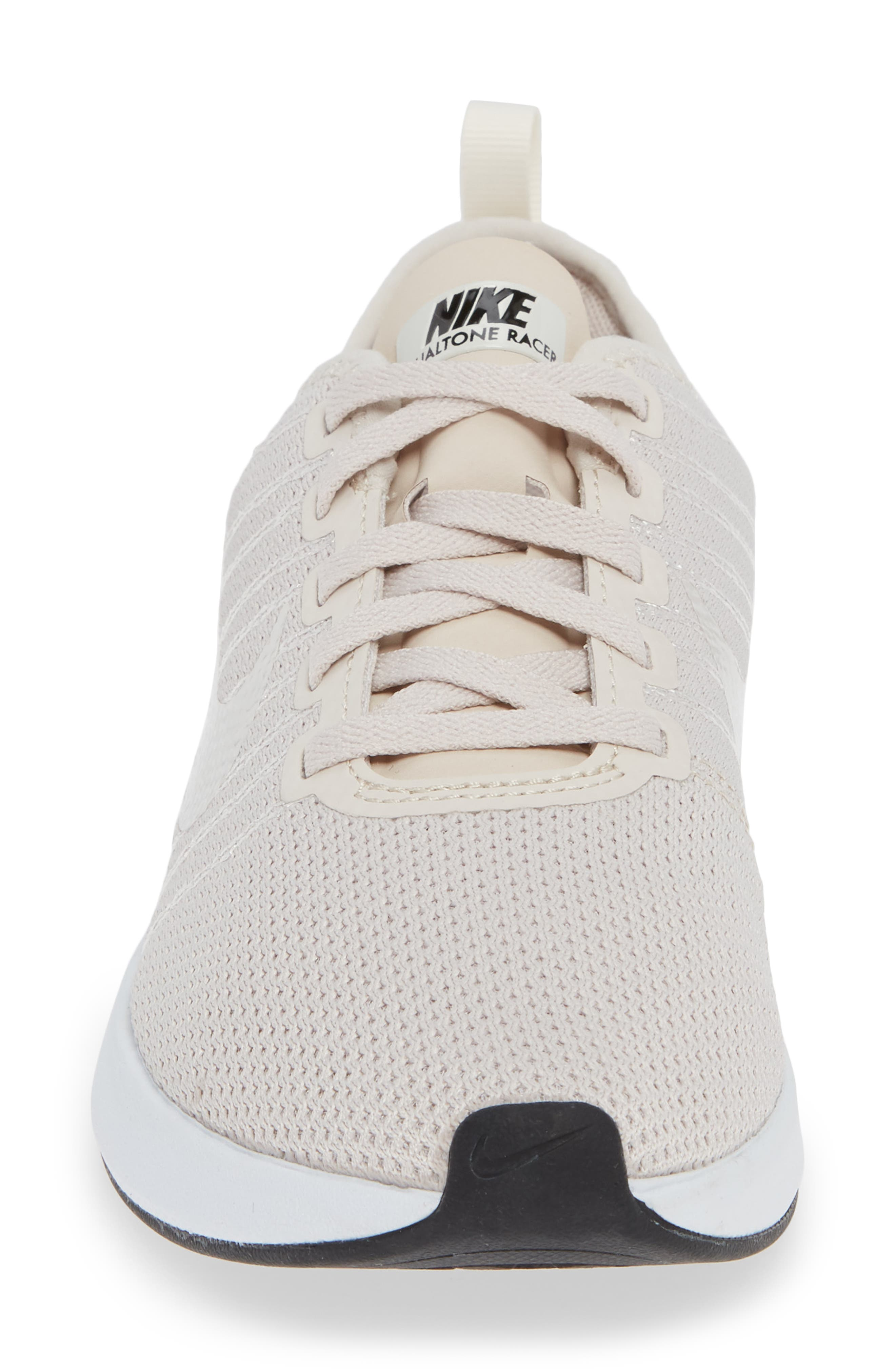Dualtone Racer Running Shoe,                             Alternate thumbnail 4, color,                             SAND/ PHANTOM/ WHITE/ BLACK