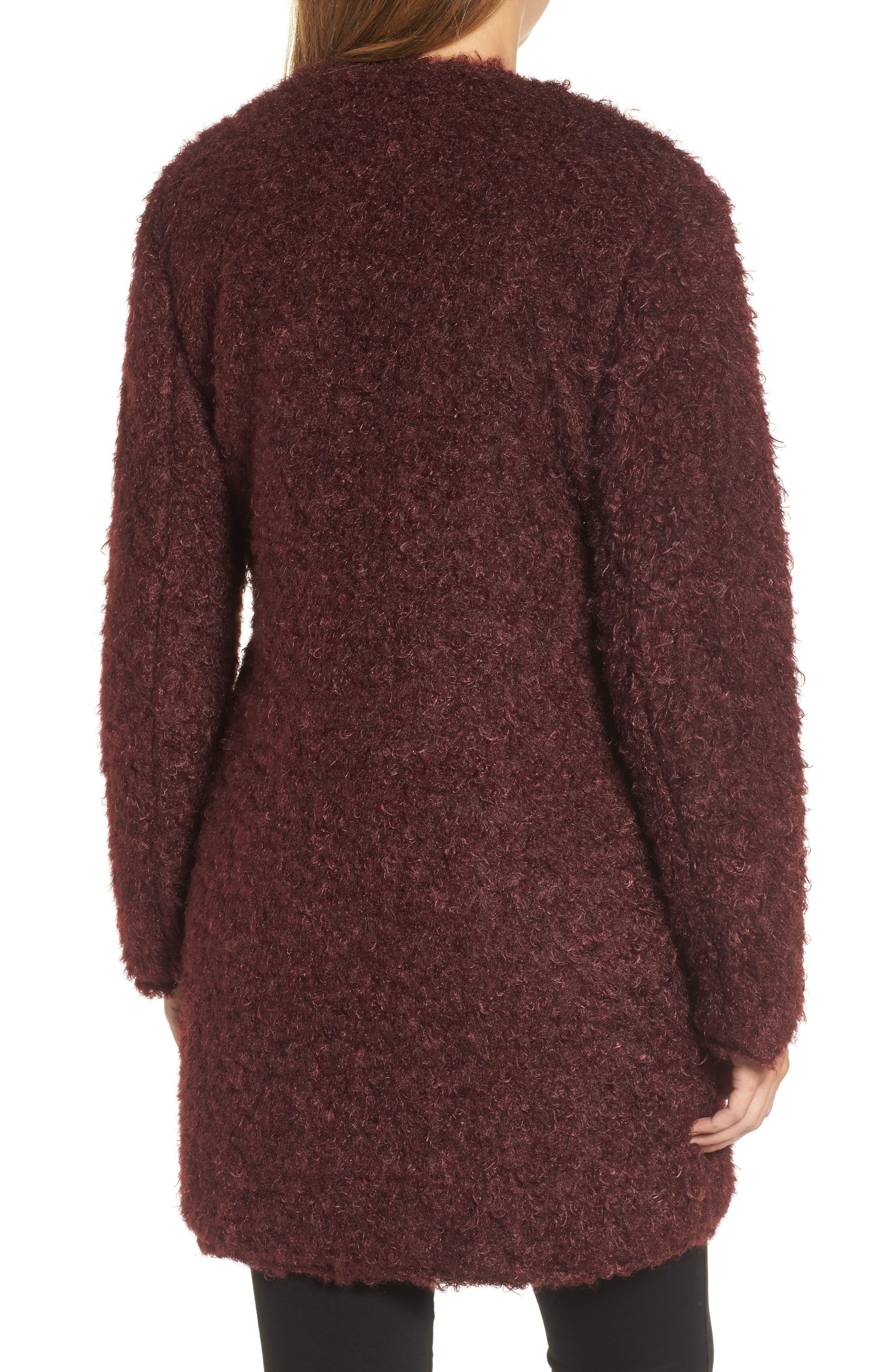 Reversible Faux Fur Coat,                             Alternate thumbnail 2, color,                             602