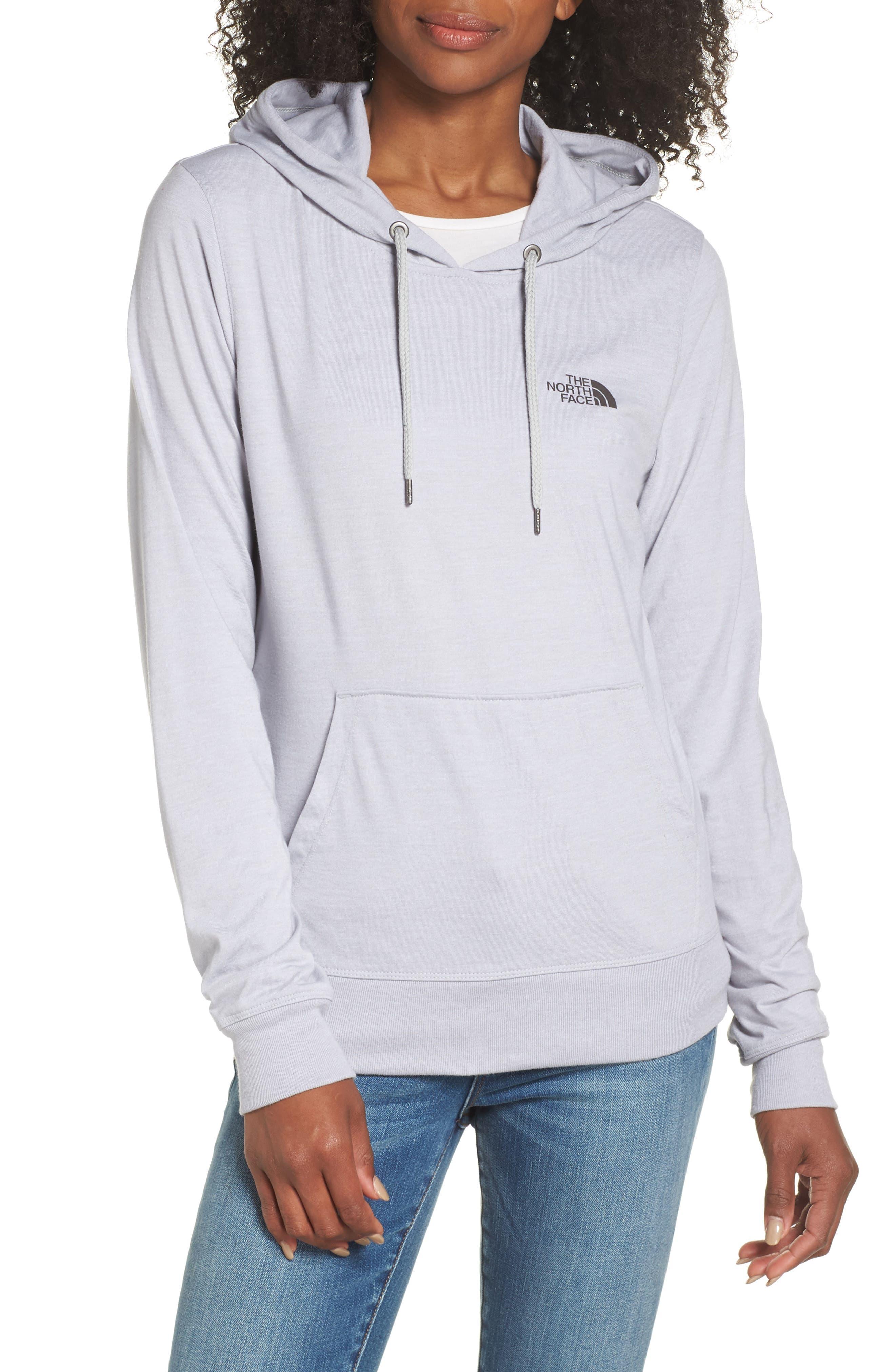 Lightweight Hoodie Sweatshirt,                         Main,                         color, TNF LIGHT GREY HEATHER