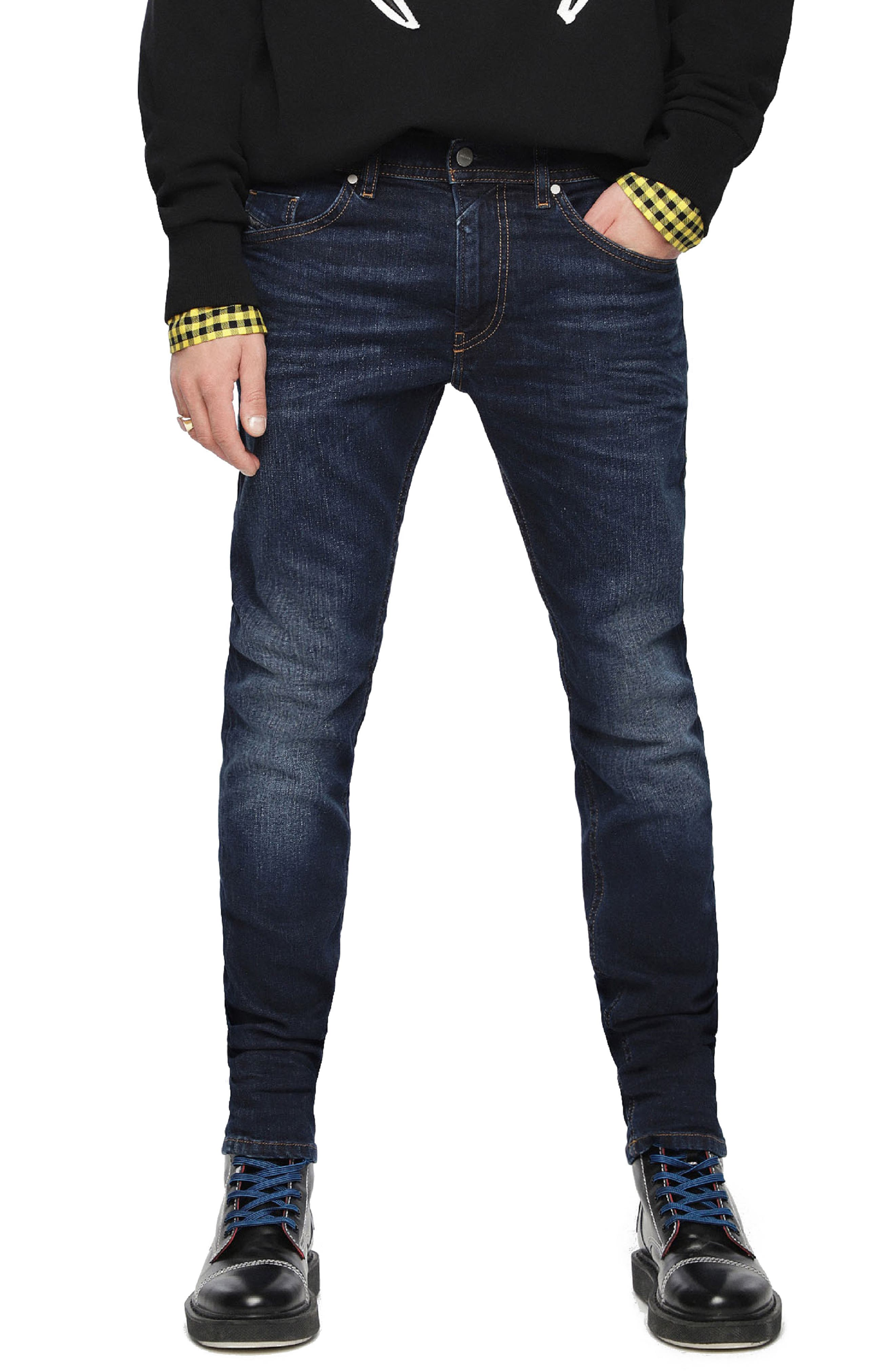 DIESEL<SUP>®</SUP>,                             Thommer Slim Fit Jeans,                             Main thumbnail 1, color,                             084VG