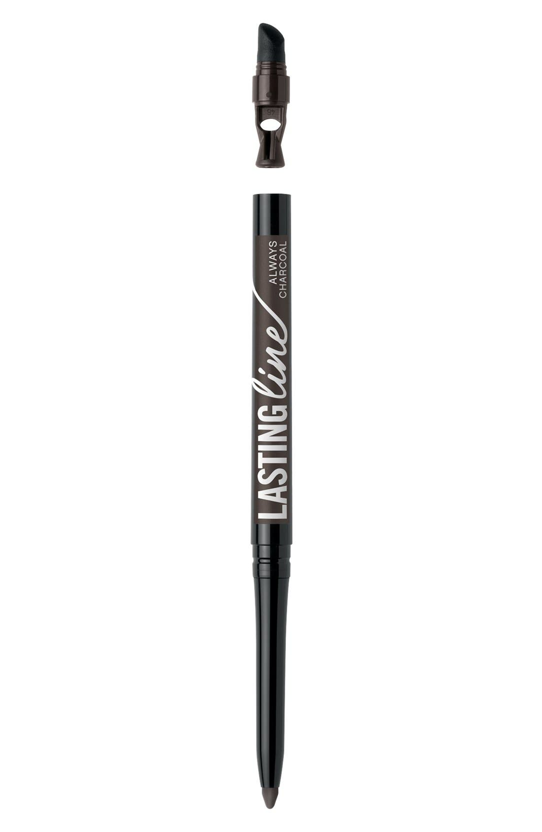 Lasting Line<sup>™</sup> Long-Wearing Eyeliner,                             Main thumbnail 1, color,                             ALWAYS CHARCOAL