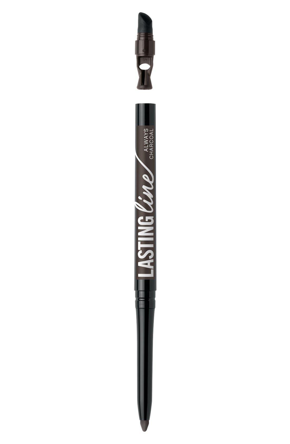 Lasting Line<sup>™</sup> Long-Wearing Eyeliner,                         Main,                         color, ALWAYS CHARCOAL