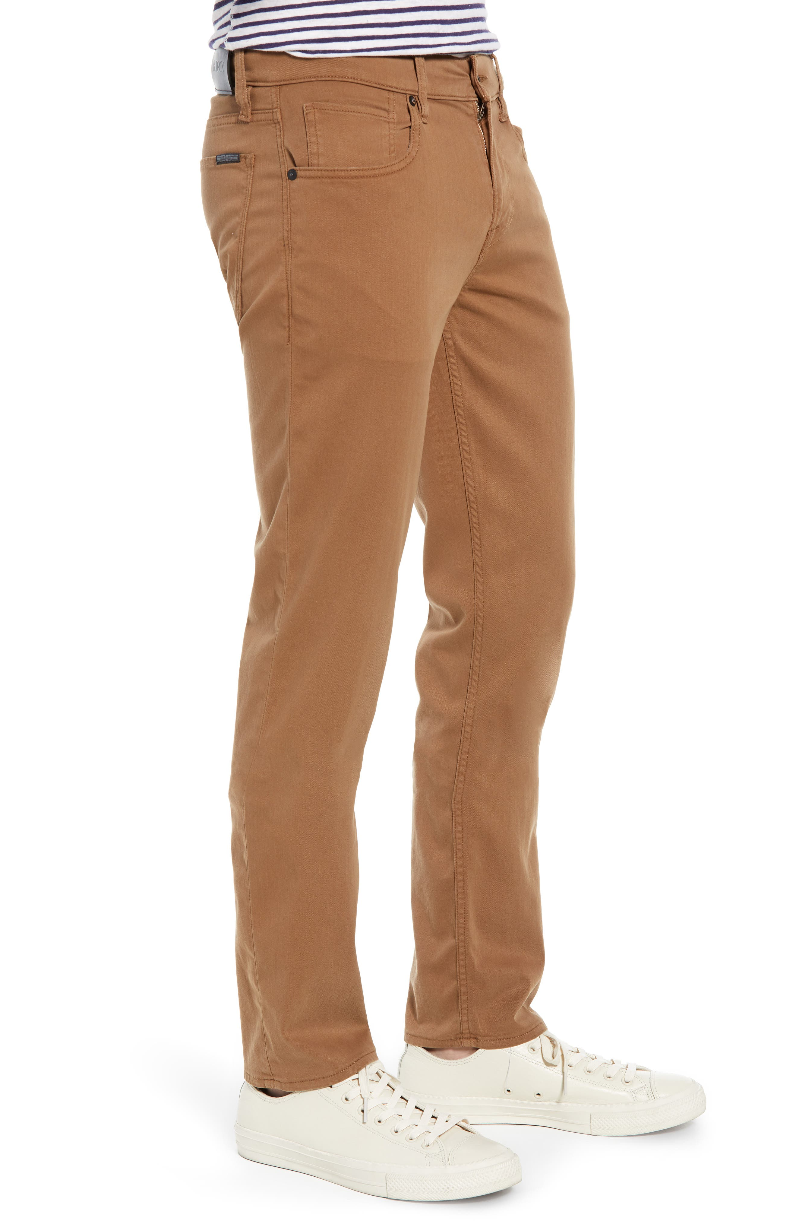 Hudson Blake Slim Fit Jeans,                             Alternate thumbnail 3, color,                             SIENNA
