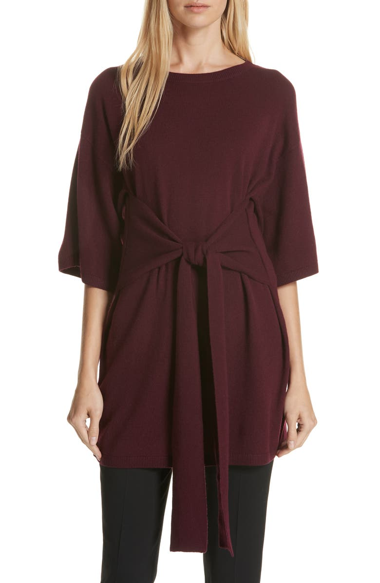 44a18875087 Ted Baker Ted Says Relax Olympy Knit Tunic In Dark Red | ModeSens