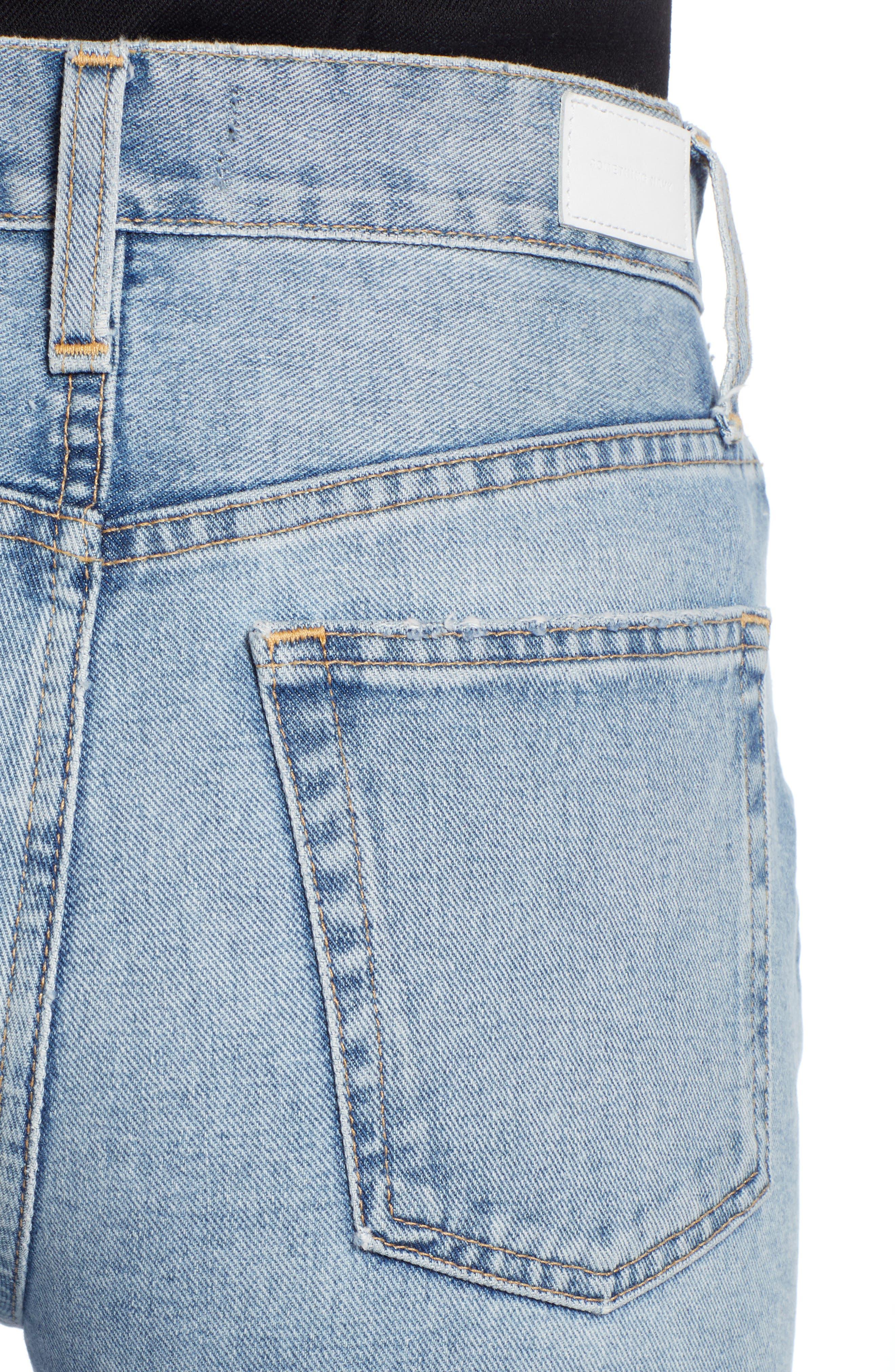 Ankle Cigarette Jeans,                             Alternate thumbnail 6, color,                             420