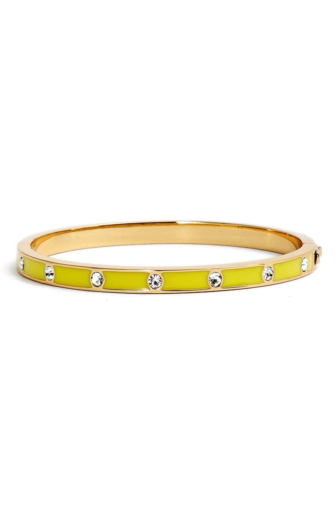 crystal & enamel hinge bangle,                             Main thumbnail 11, color,