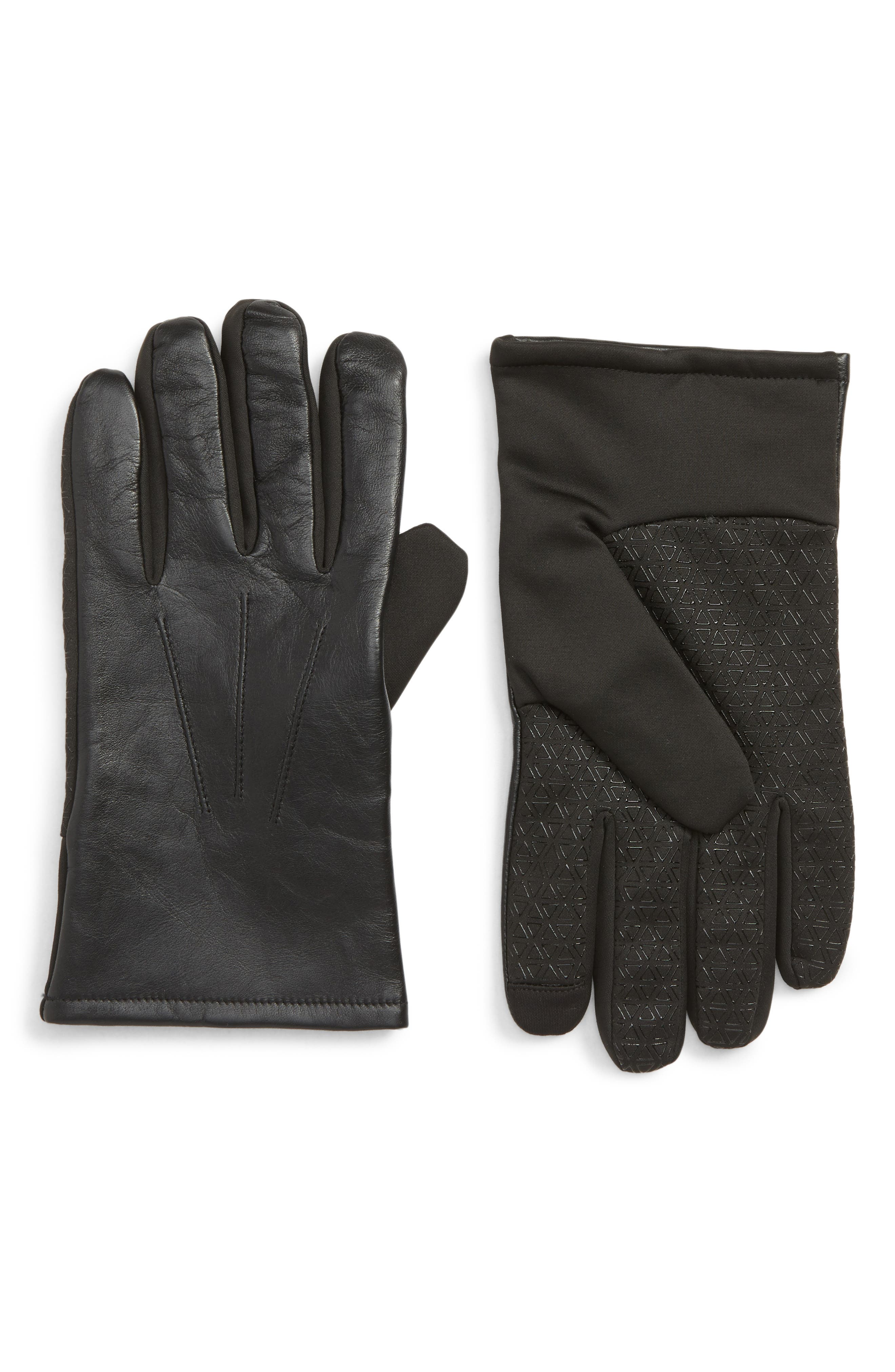 Nordstrom Shop Robson Tech Touch Commuter Gloves, Black