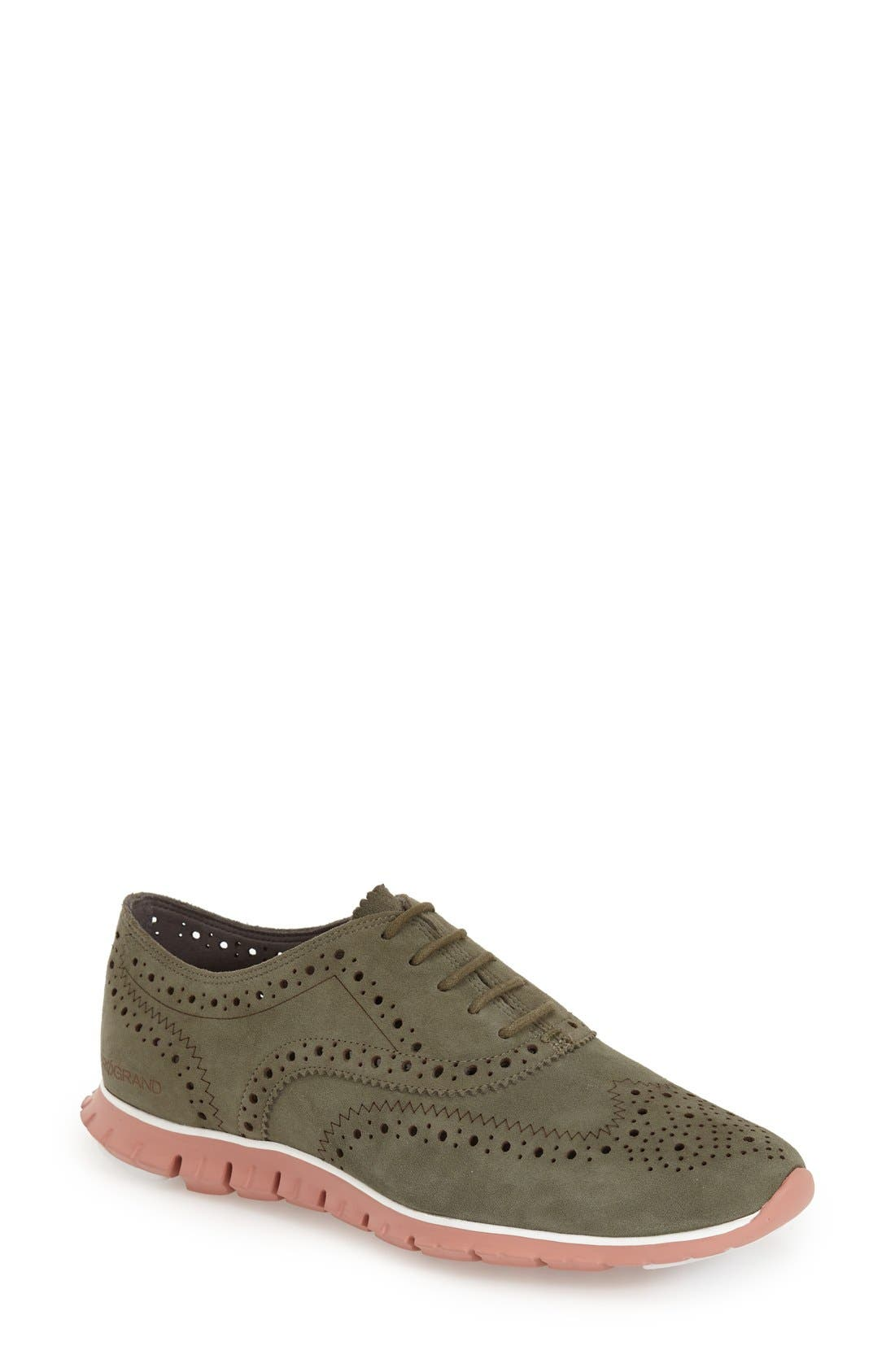 'ZeroGrand' Perforated Wingtip,                             Main thumbnail 16, color,