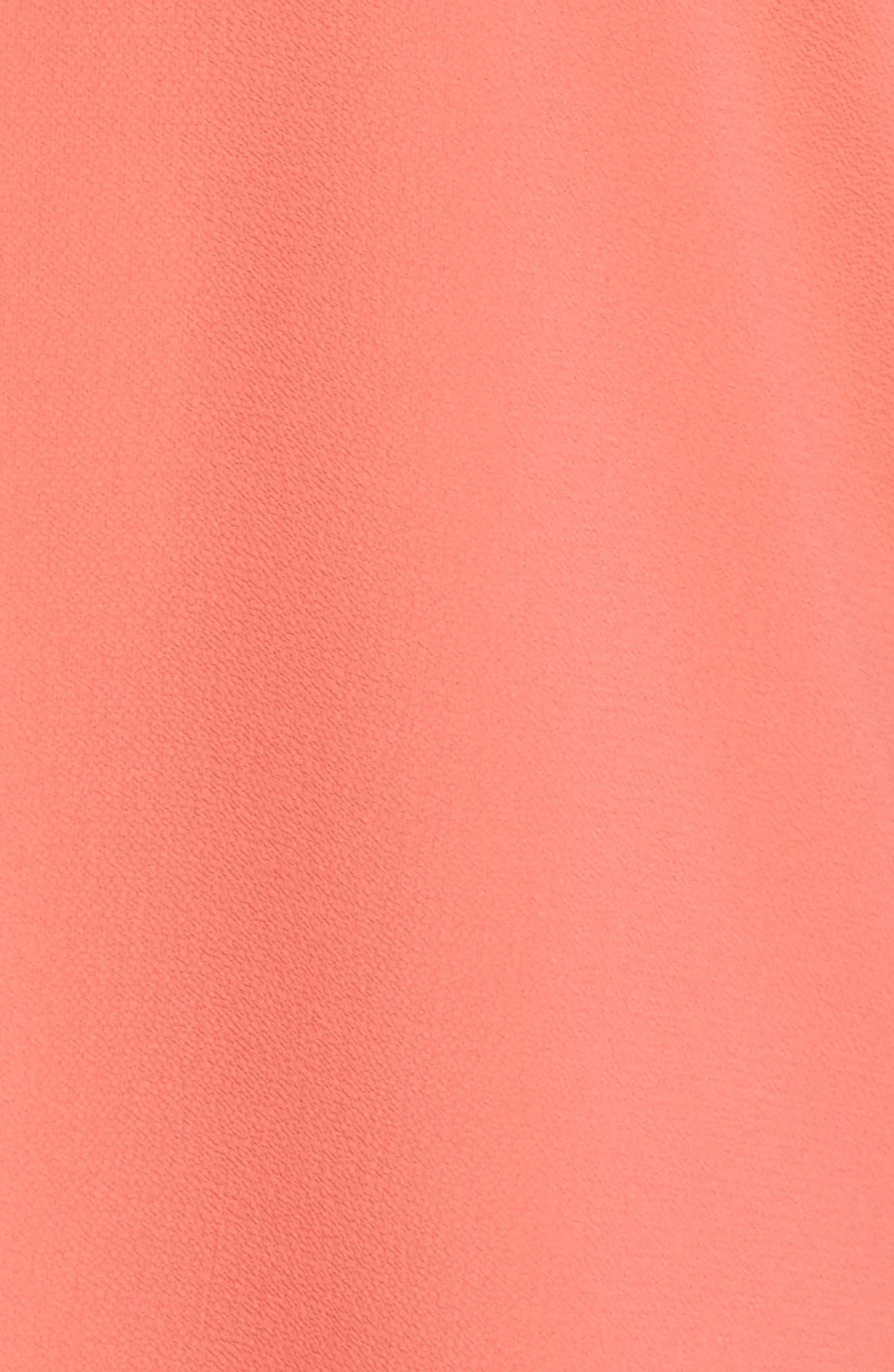 Crepe Blouse,                             Alternate thumbnail 5, color,                             655