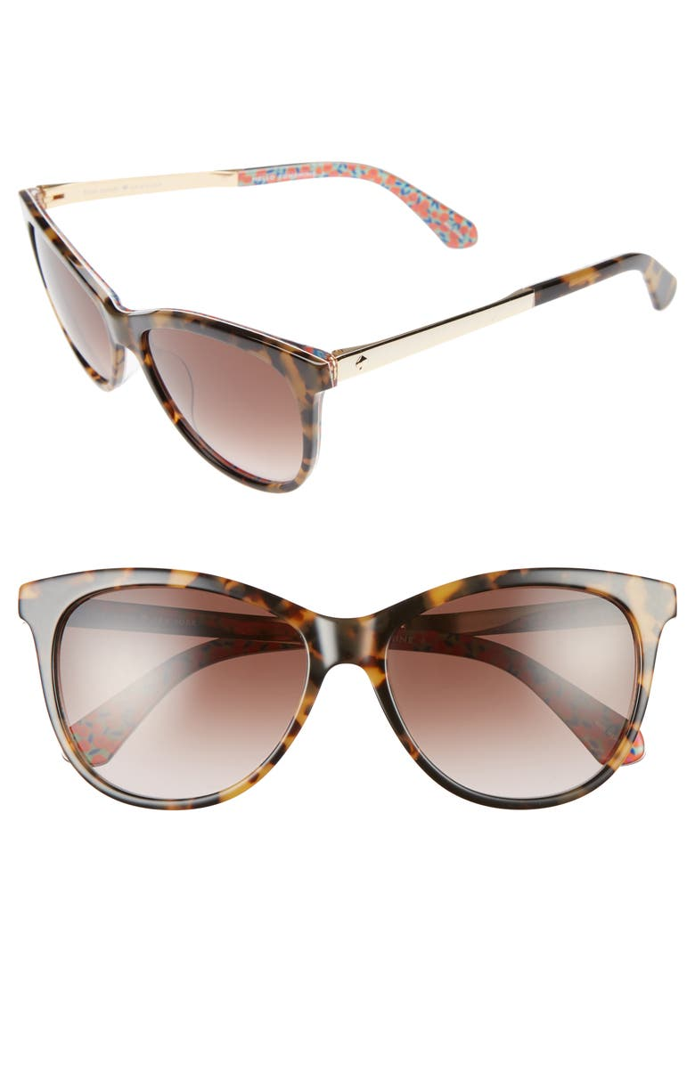 46cf3d7f7e kate spade new york jizelle 55mm gradient lenses cat eye sunglasses ...