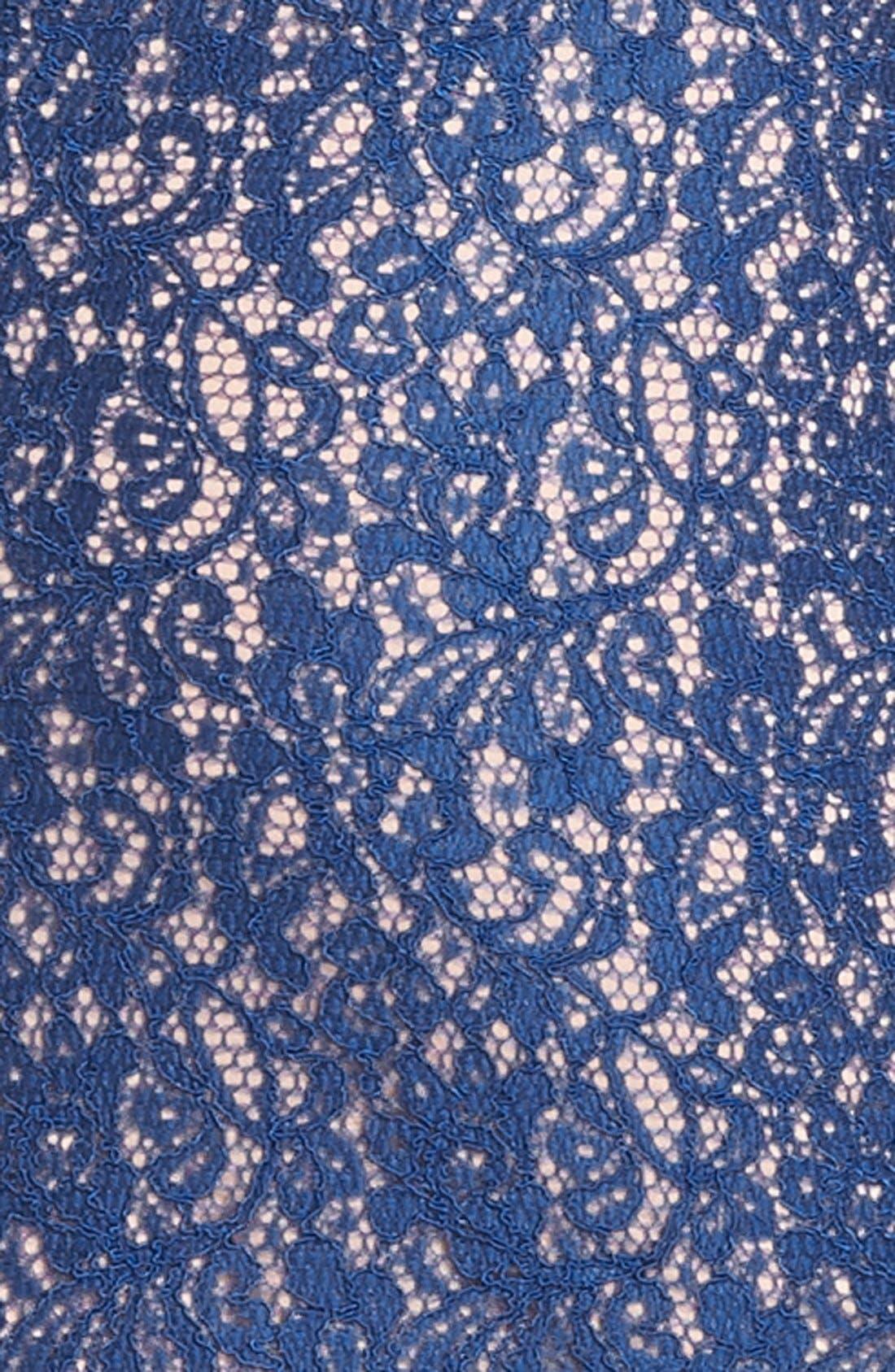 Boatneck Lace Sheath Dress,                             Alternate thumbnail 163, color,