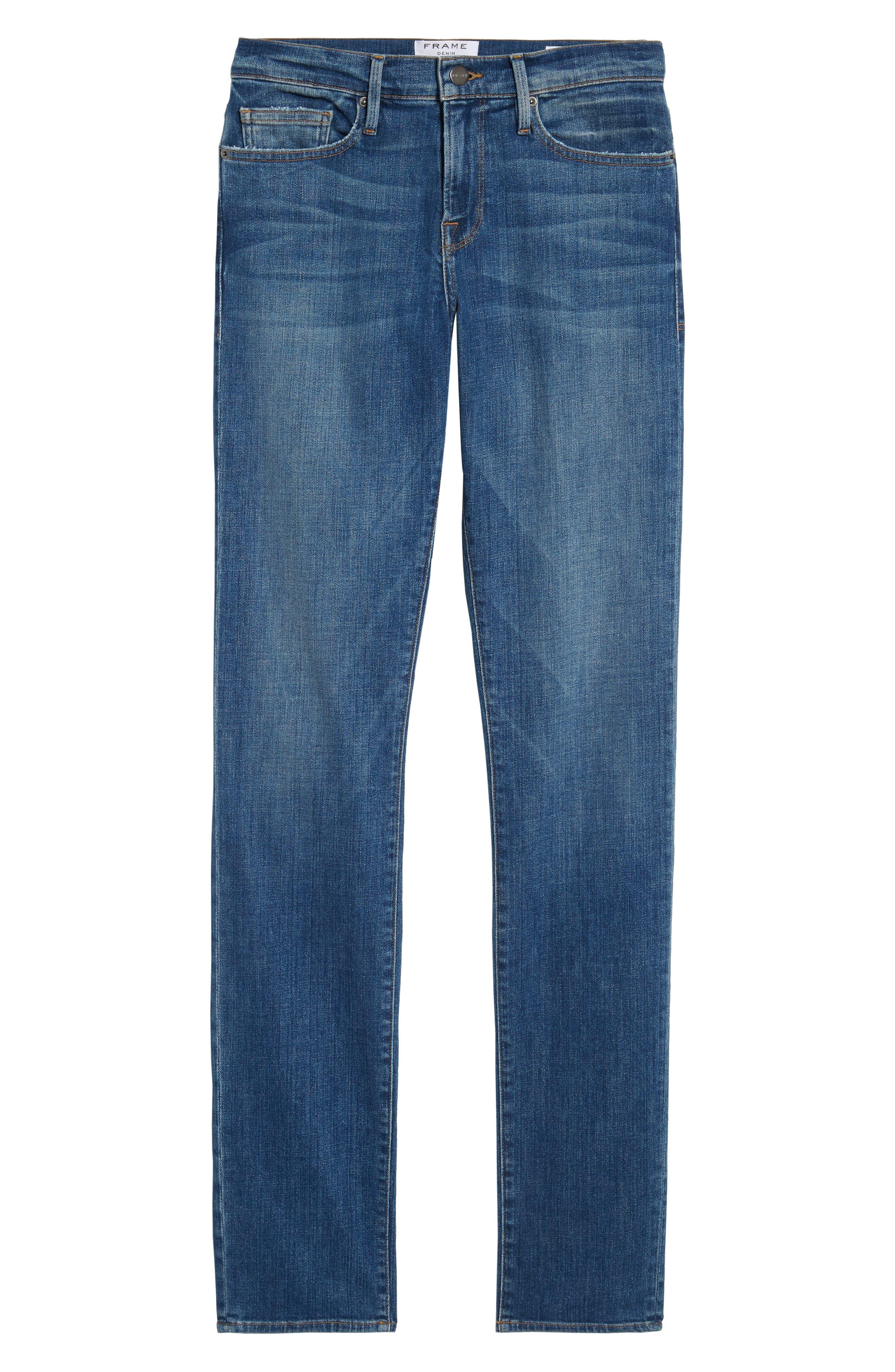 L'Homme Slim Fit Jeans,                             Alternate thumbnail 6, color,                             407