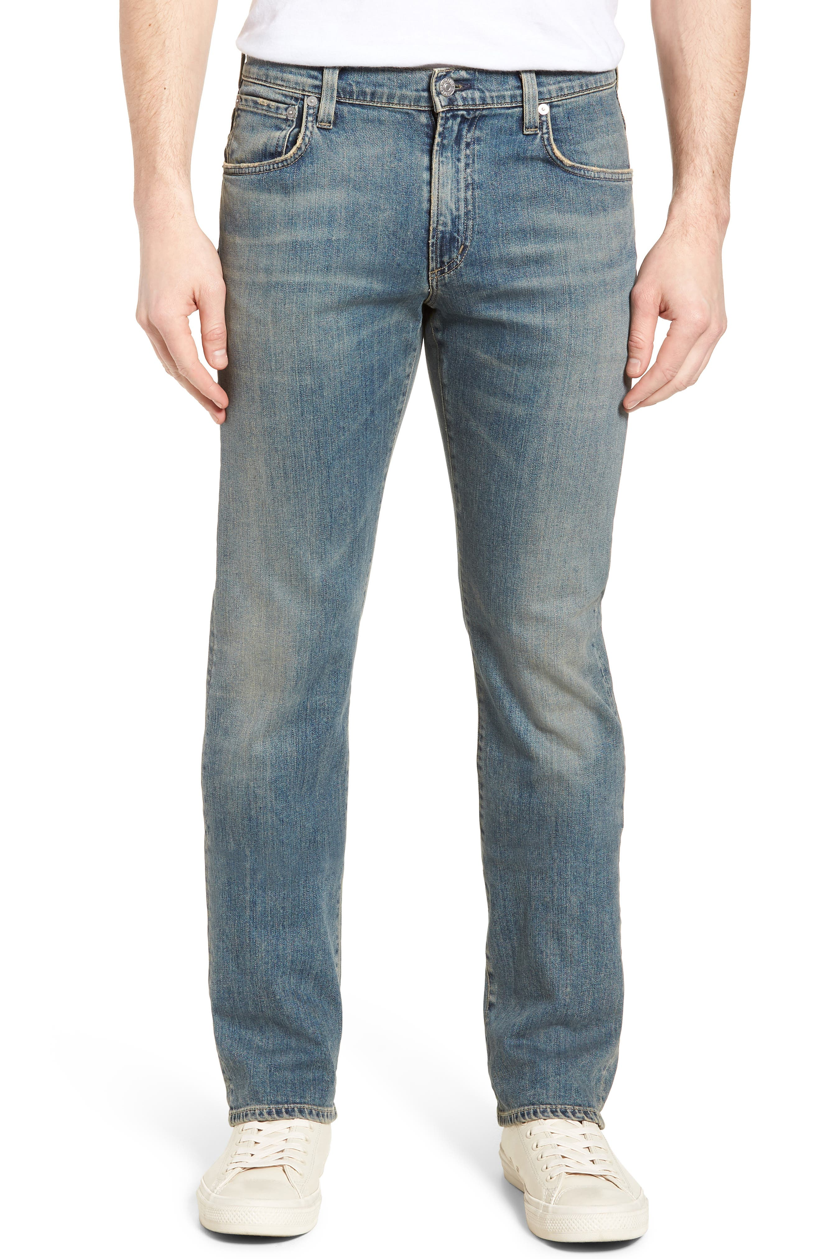 Sid Straight Leg Jeans,                             Main thumbnail 1, color,                             URIEL