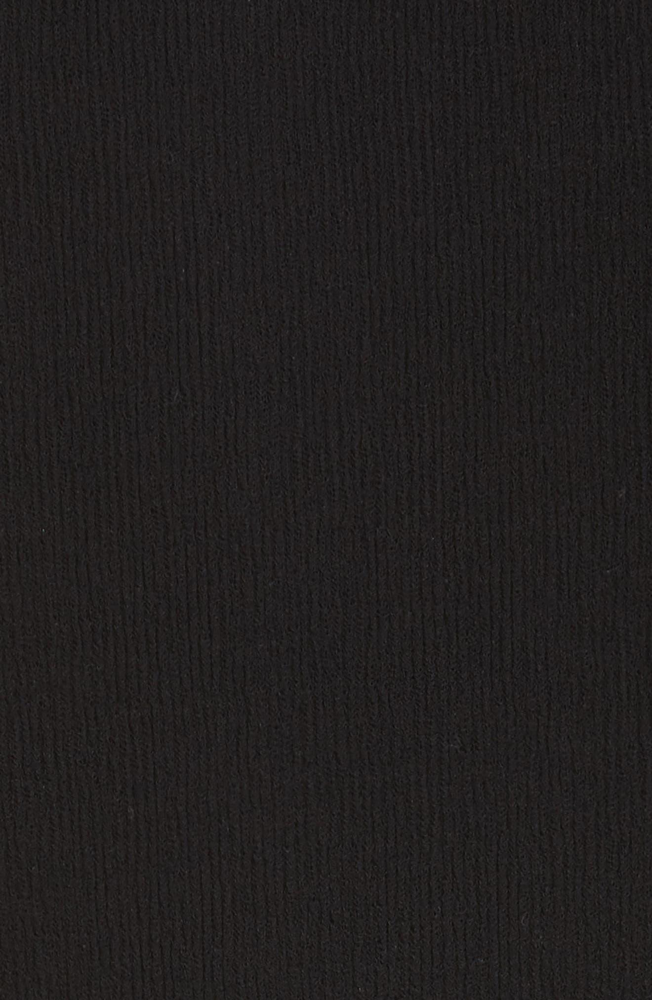 PSWL Illusion Jersey Gauze Top,                             Alternate thumbnail 6, color,                             001