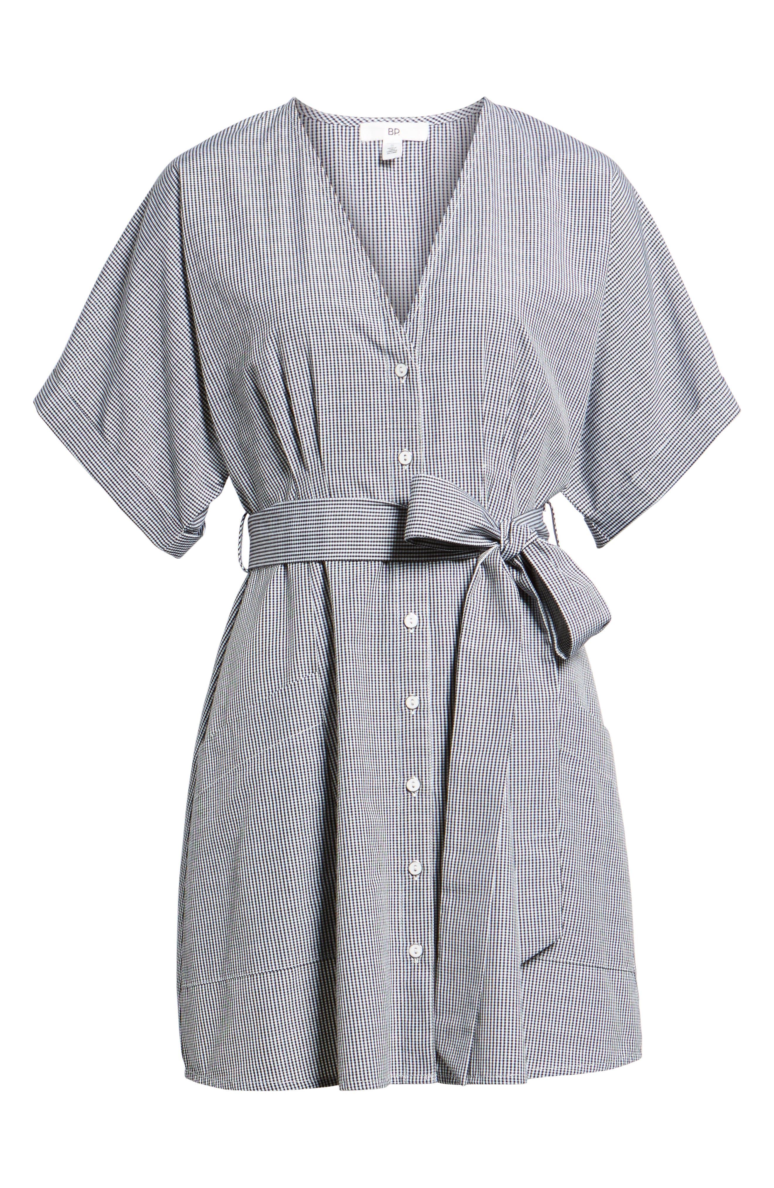 Button Front Dress,                             Alternate thumbnail 17, color,