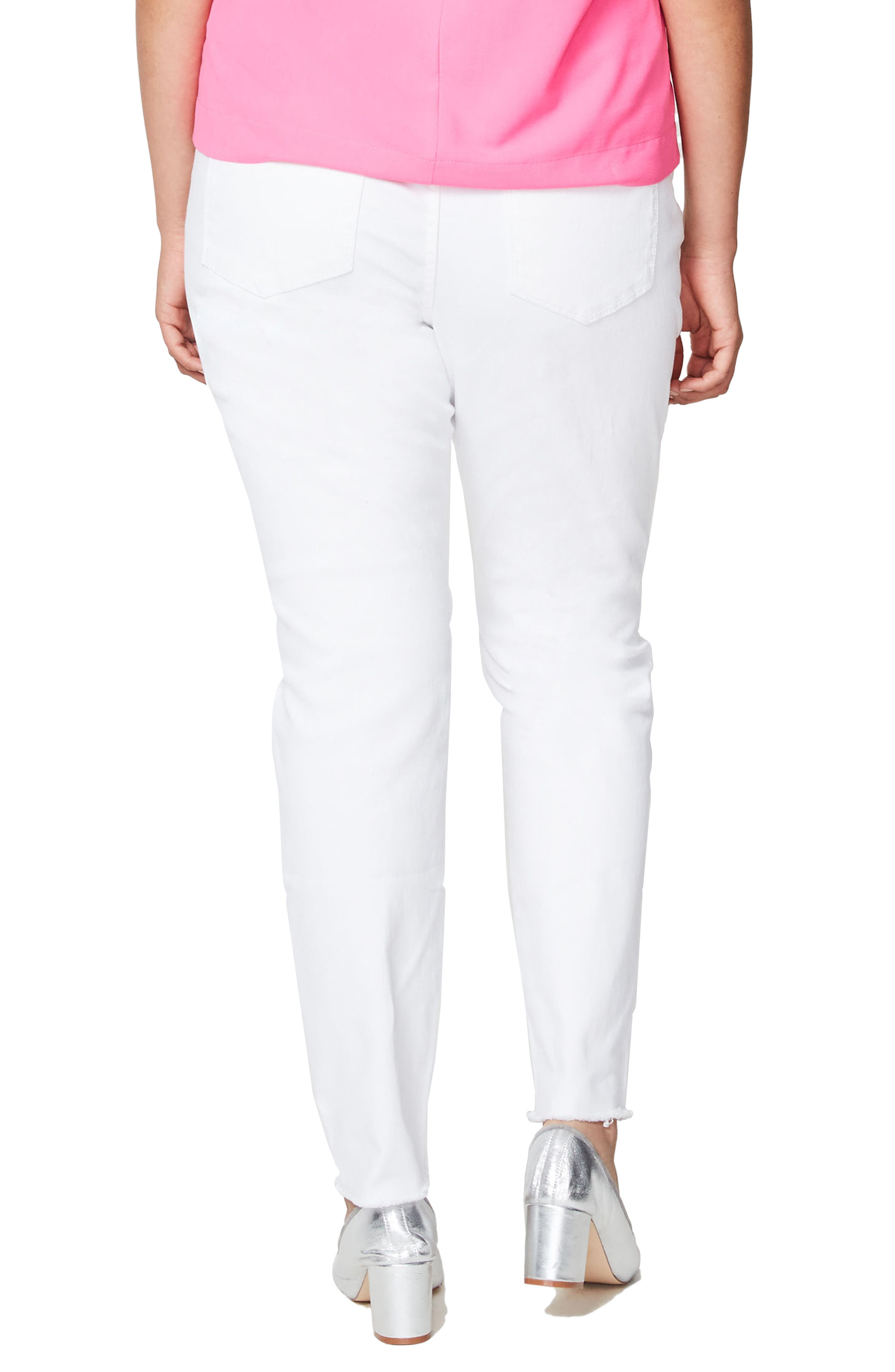 Rachel Roy Live to Love Ripped Skinny Jeans,                             Alternate thumbnail 2, color,                             100