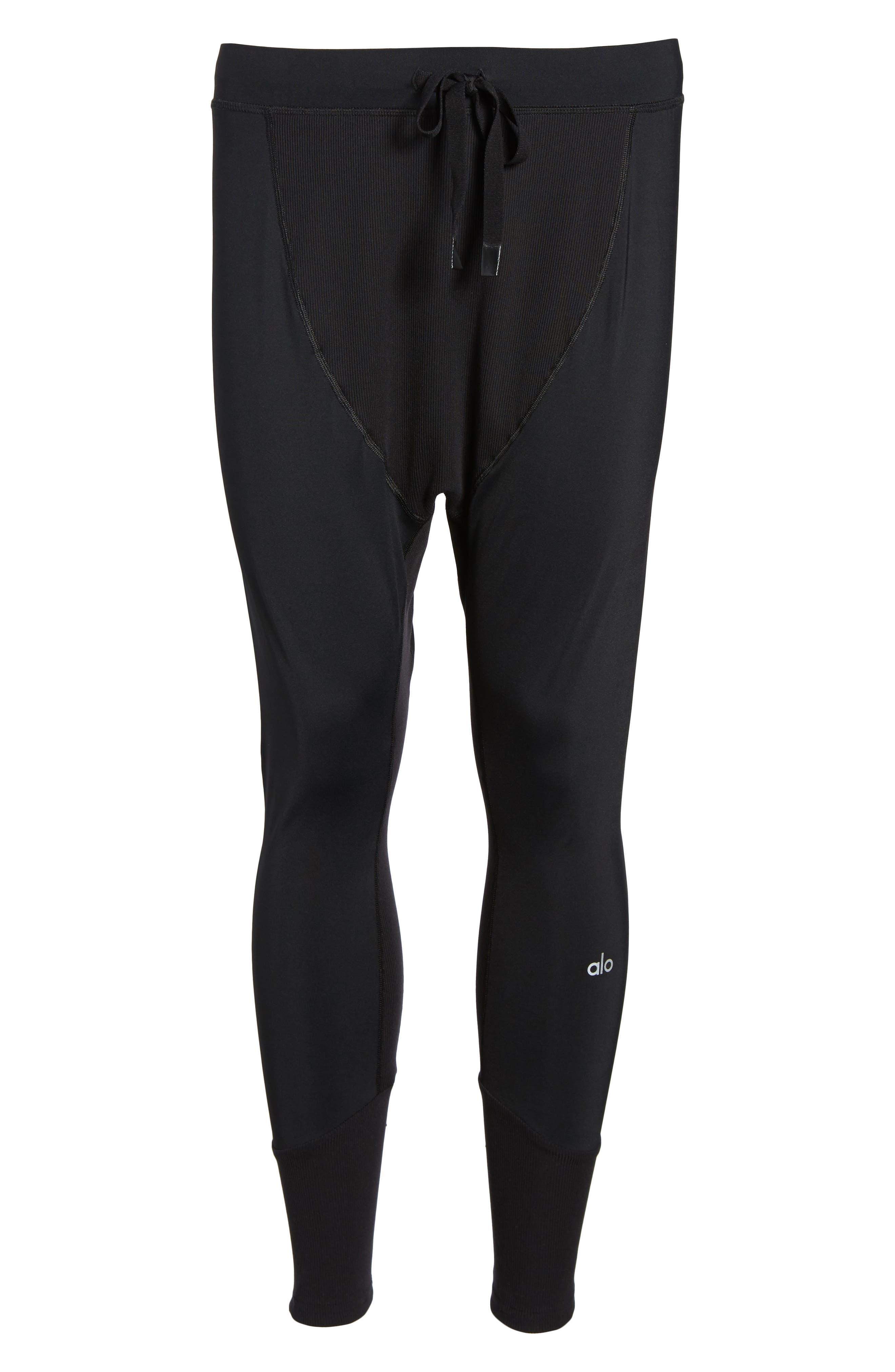 Rebel Jogger Pants,                             Alternate thumbnail 6, color,                             BLACK