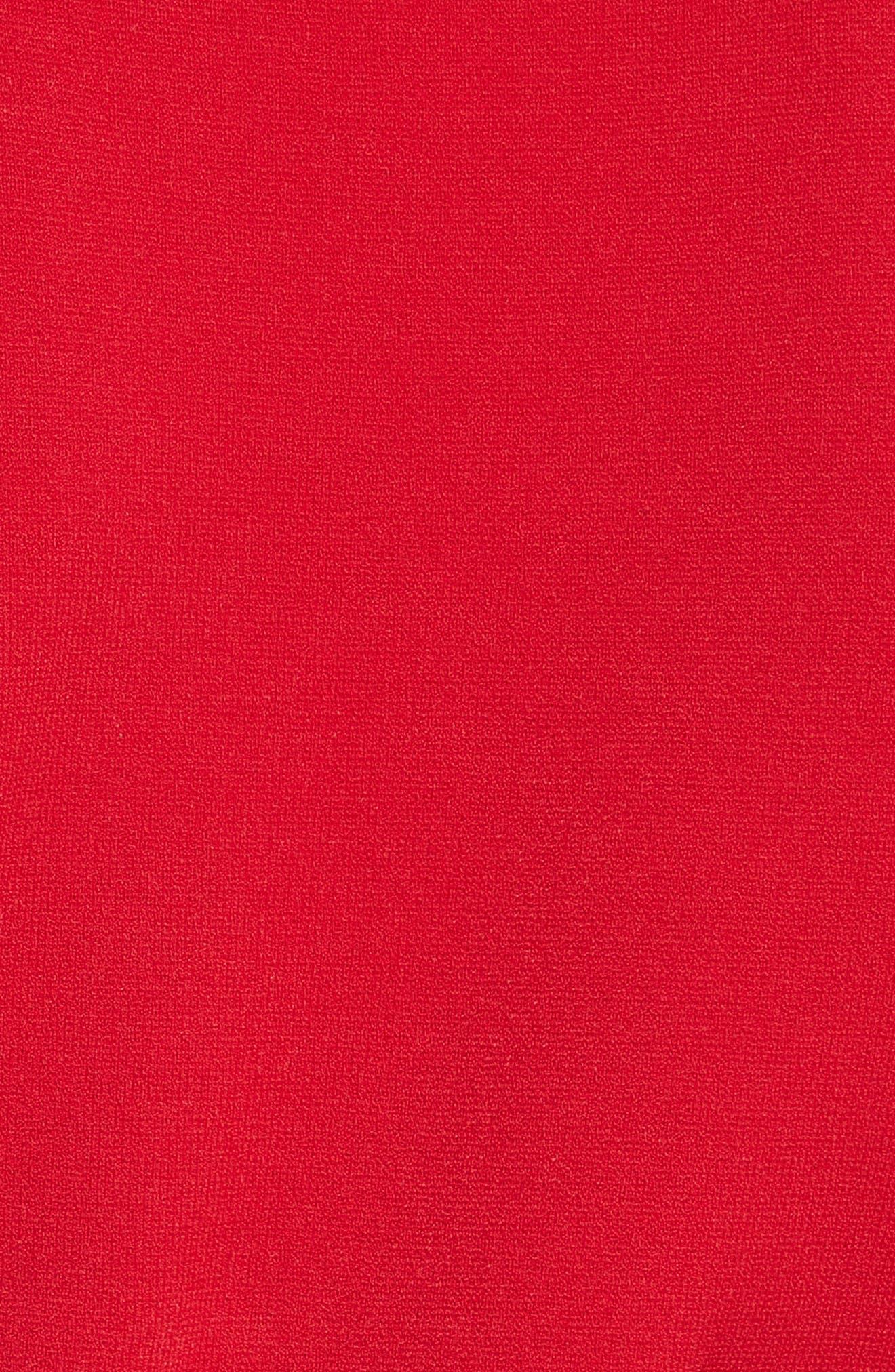 Diane von Furstenberg Flutter Sleeve Mock Neck Sweater,                             Alternate thumbnail 10, color,