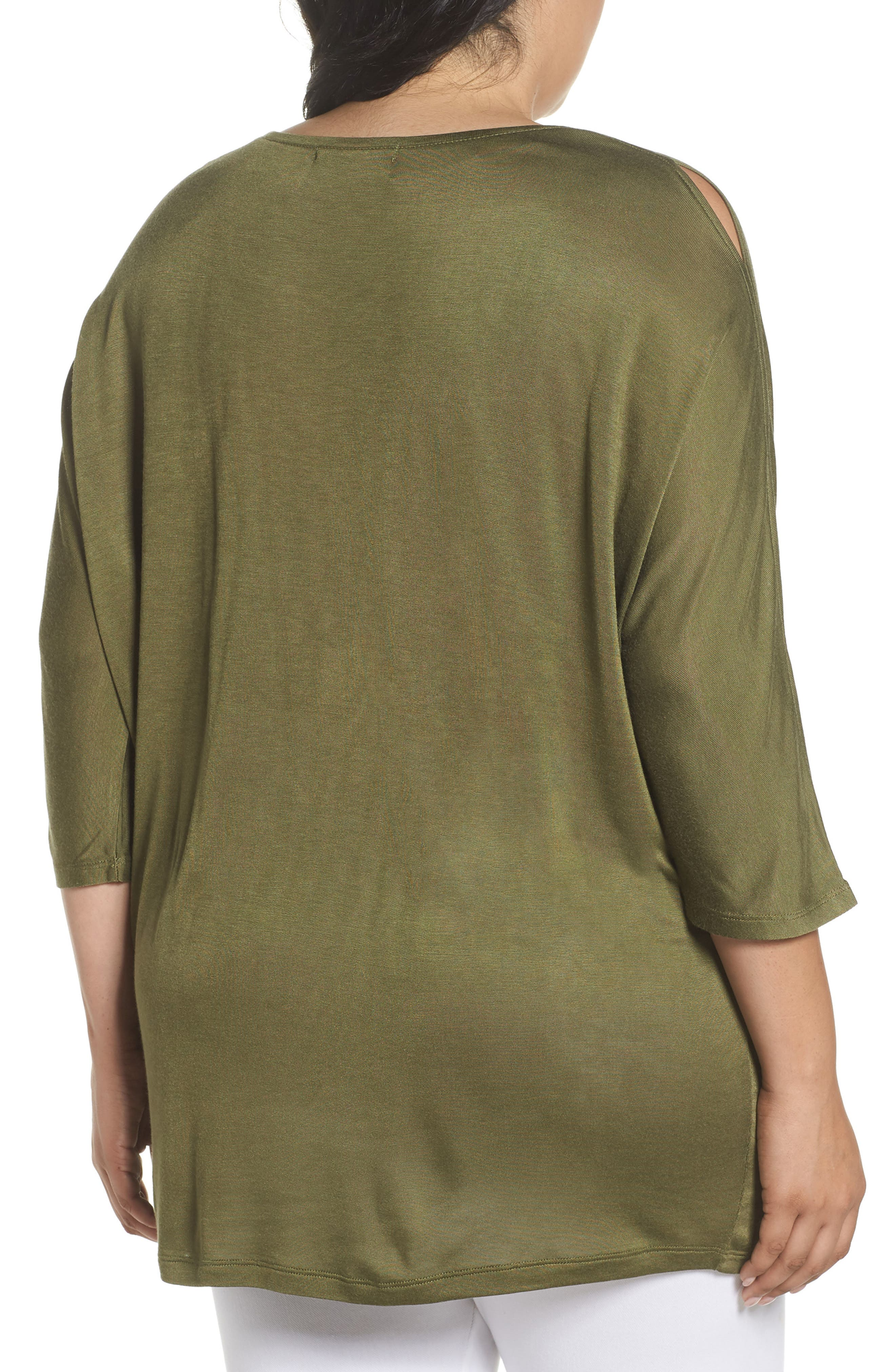 Slit Sleeve Top,                             Alternate thumbnail 9, color,