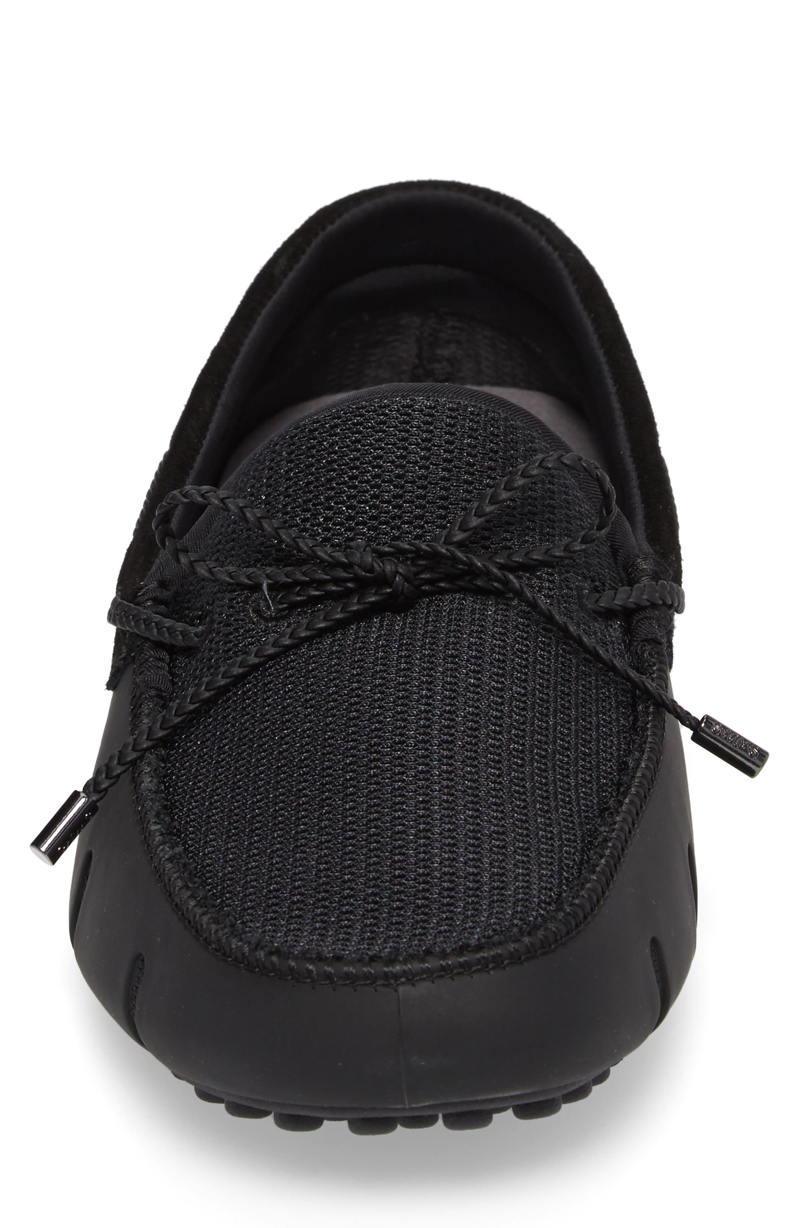 Driving Shoe,                             Alternate thumbnail 4, color,                             BLACK/ GRAPHITE