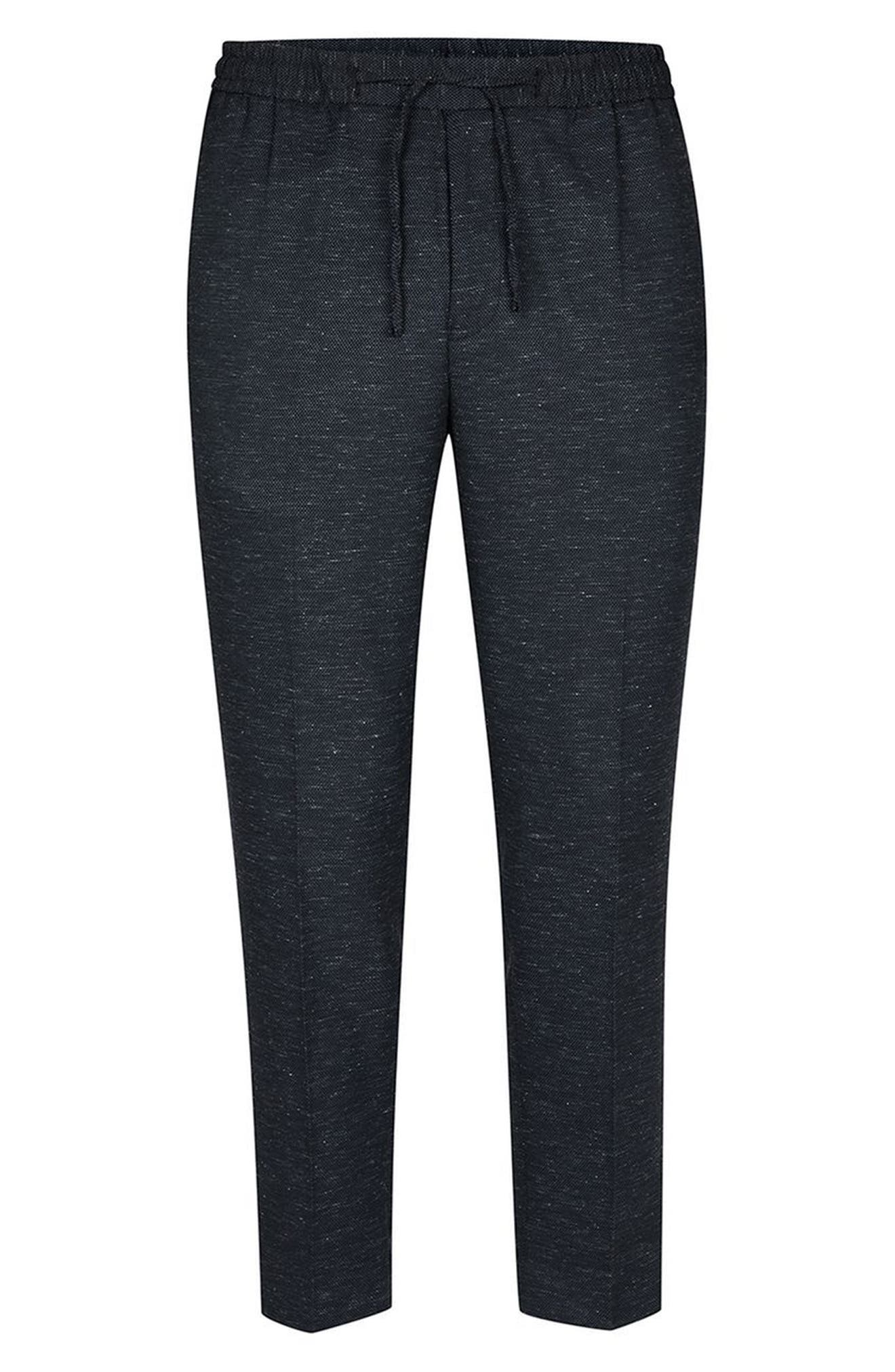Romeo Flecked Jogger Pants,                             Alternate thumbnail 4, color,                             420