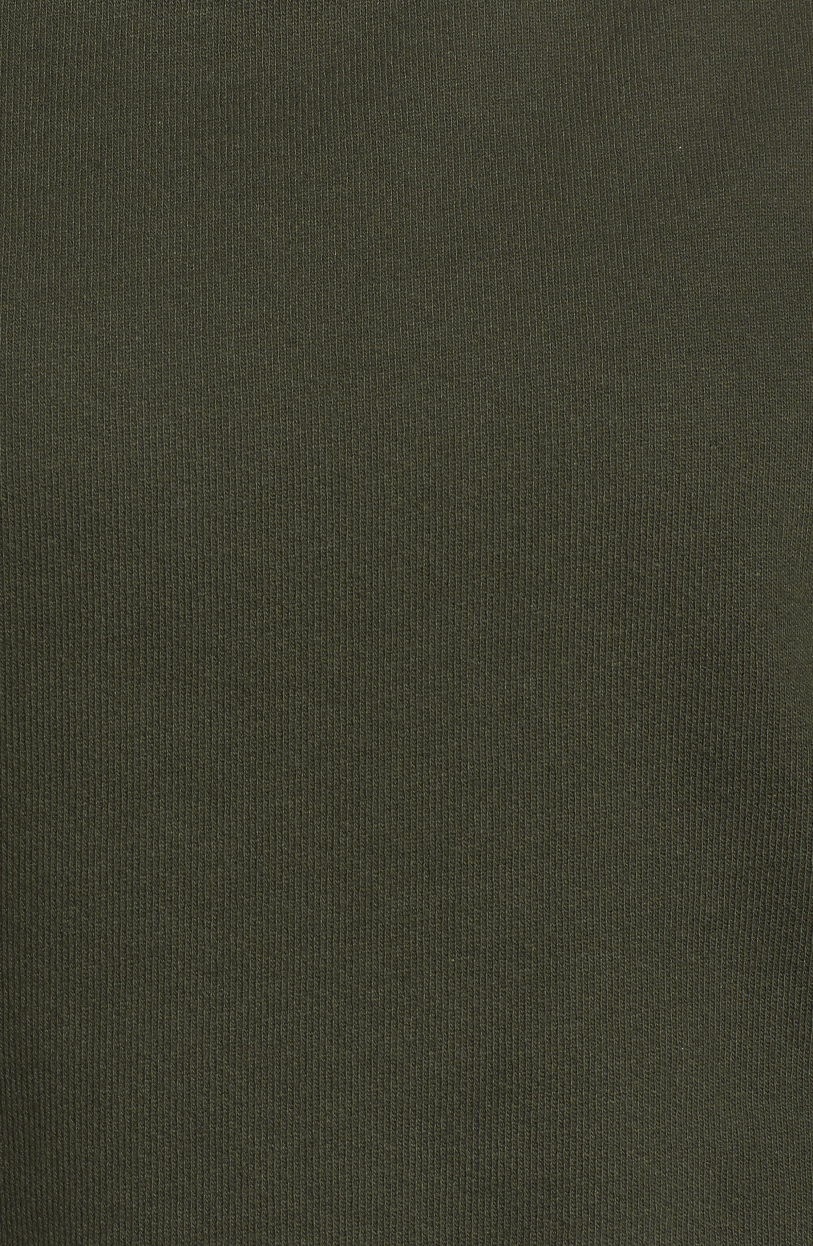 Peak Cutout Long Sleeve Pullover Crop Hoodie,                             Alternate thumbnail 16, color,