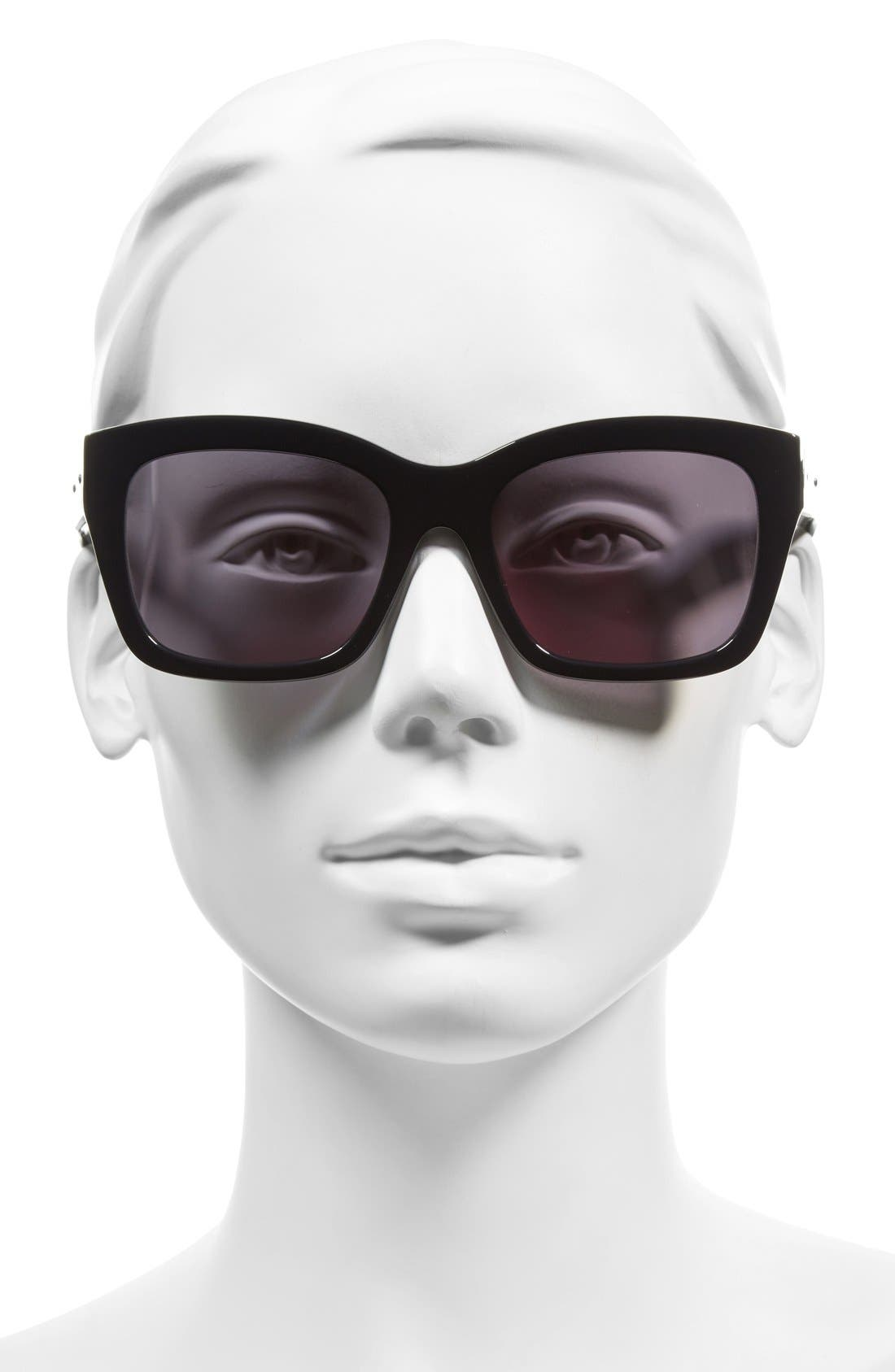 'Ava' 54mm Sunglasses,                             Alternate thumbnail 7, color,