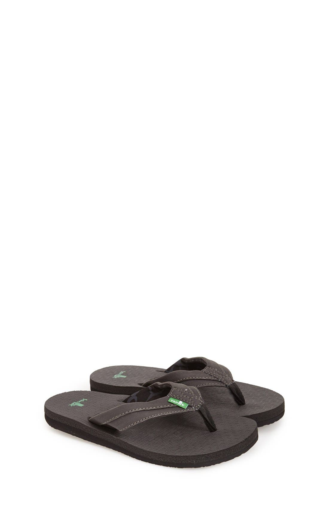 'Rootbeer Cozy' Lightweight Flip Flop Sandal,                             Main thumbnail 1, color,                             001