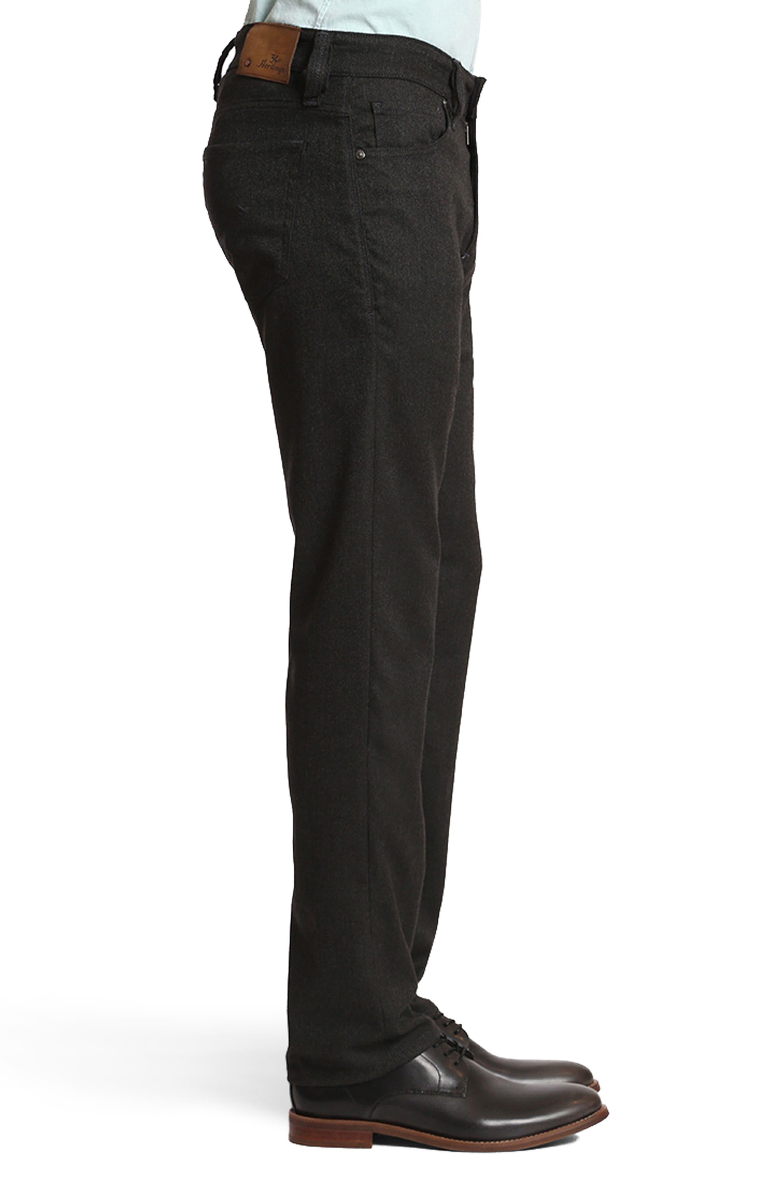 Courage Straight Leg Tweed Pants,                             Alternate thumbnail 3, color,                             401