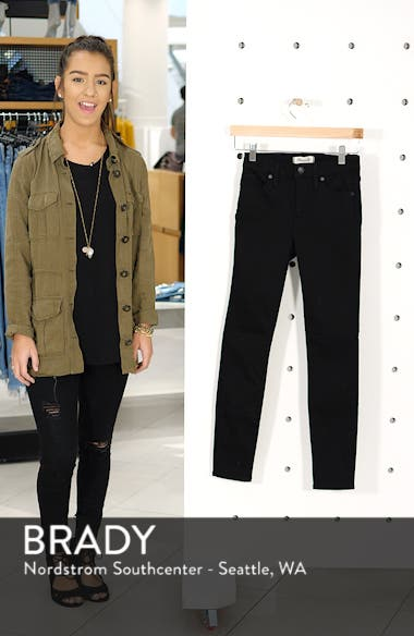 9-Inch High Waist Skinny Jeans, sales video thumbnail