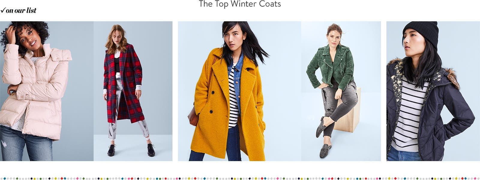The top winter coats for women.