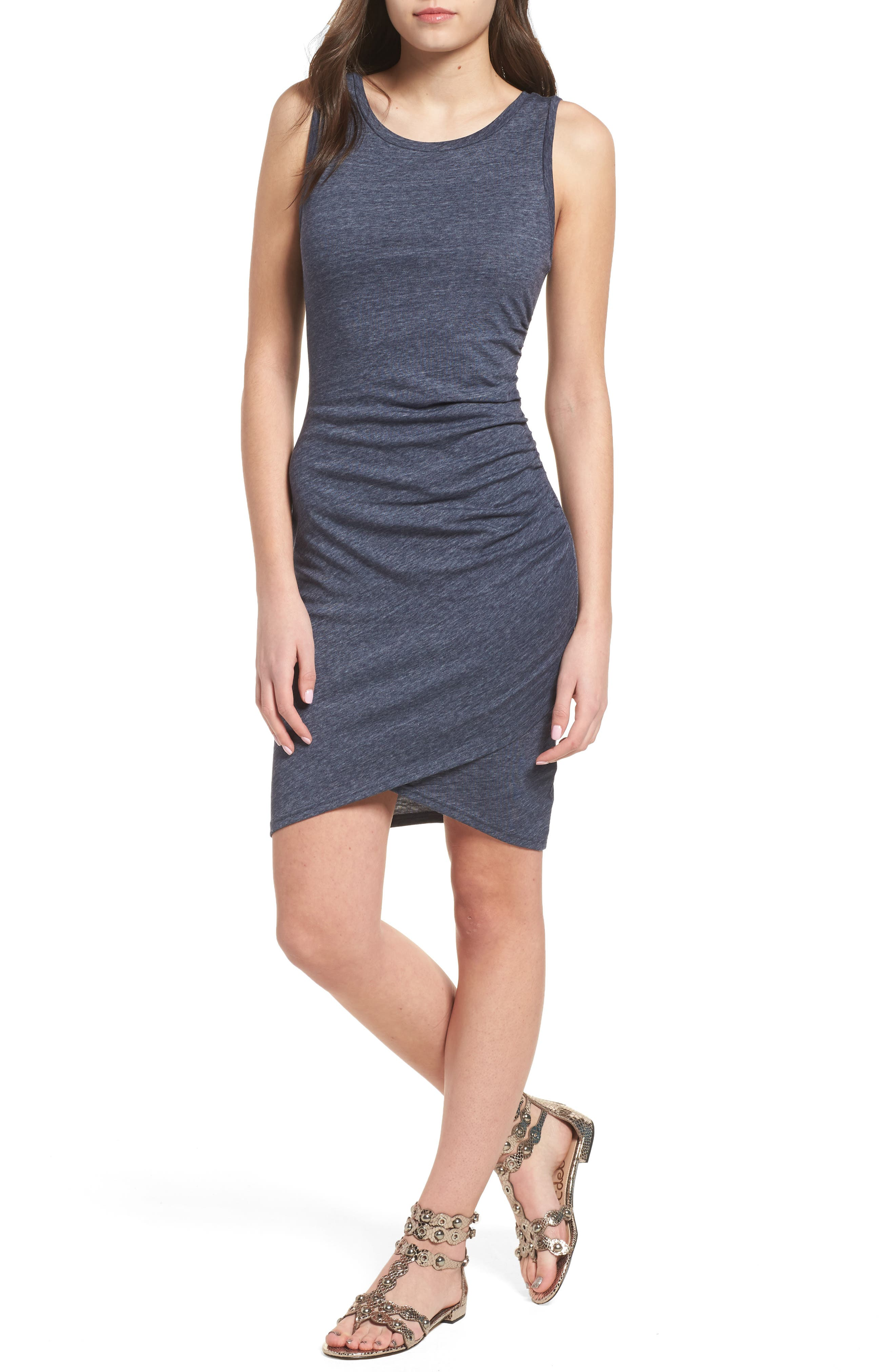 Ruched Body-Con Tank Dress,                             Alternate thumbnail 65, color,