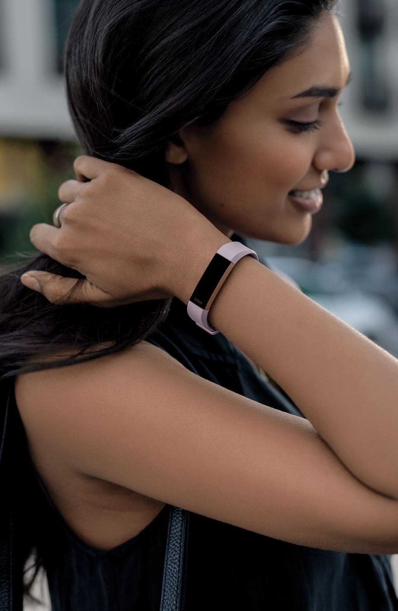 Special Edition Alta HR Wireless Heart Rate and Fitness Tracker,                             Alternate thumbnail 7, color,                             PINK ROSE GOLD