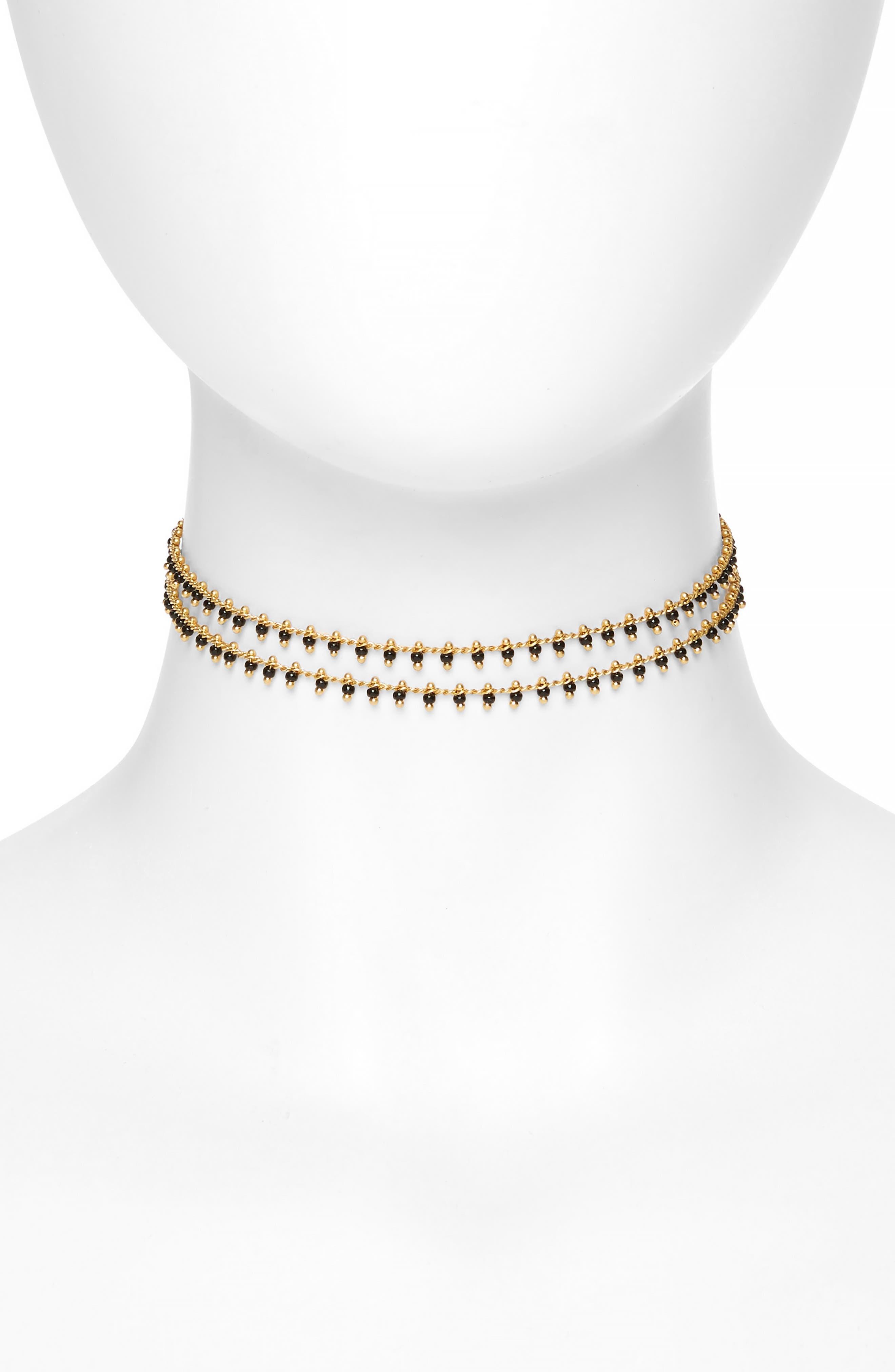 Beadlink Choker Necklace,                         Main,                         color,
