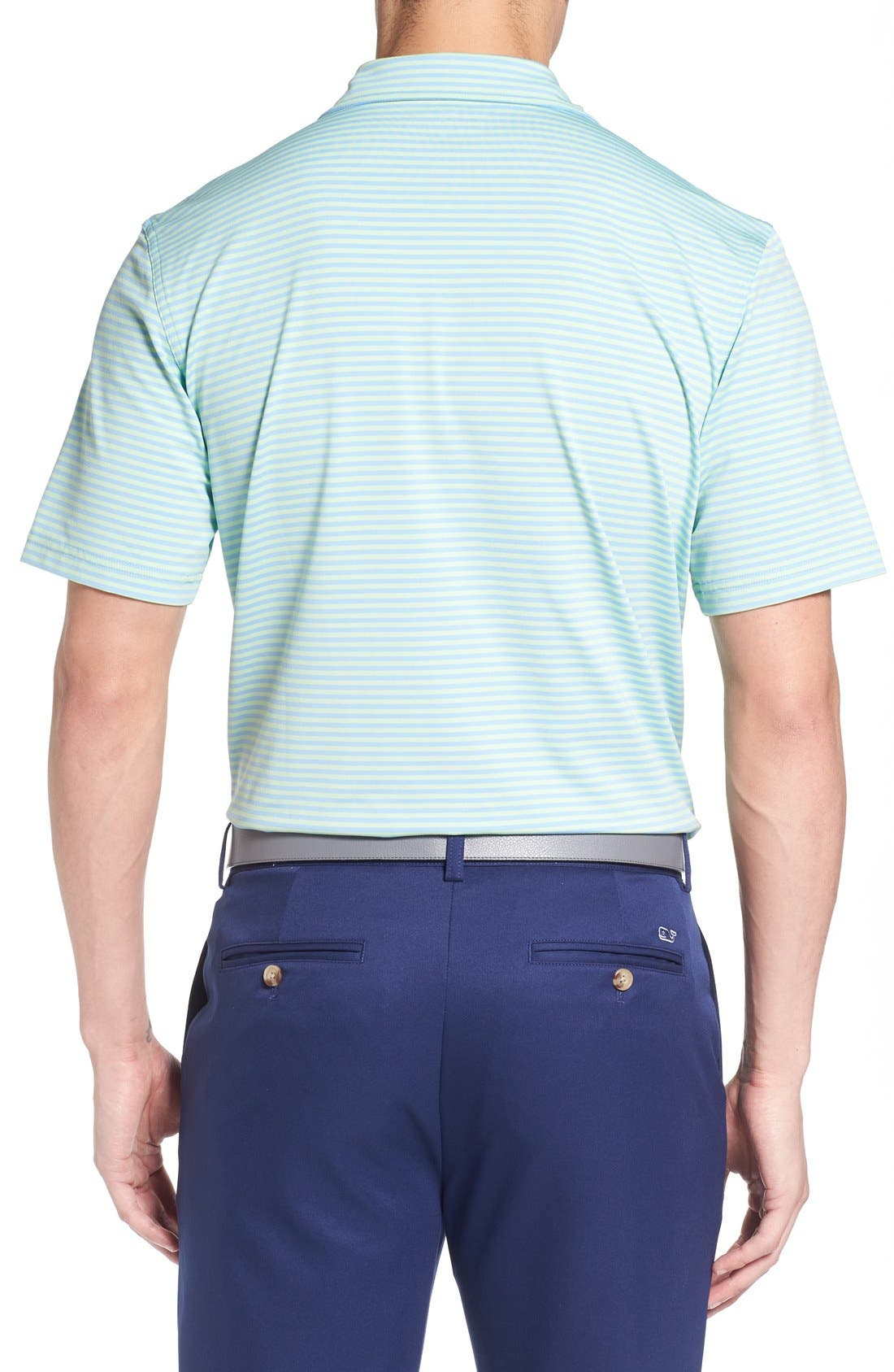 Kennedy Stripe Golf Polo,                             Alternate thumbnail 26, color,