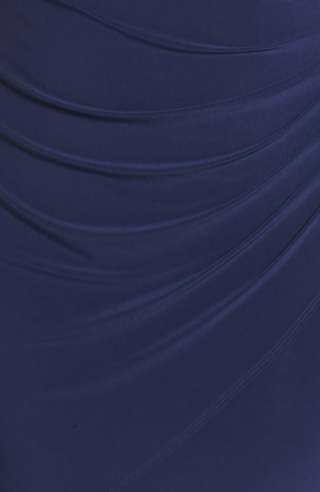 Embellished Faux Wrap Dress,                             Alternate thumbnail 12, color,                             410