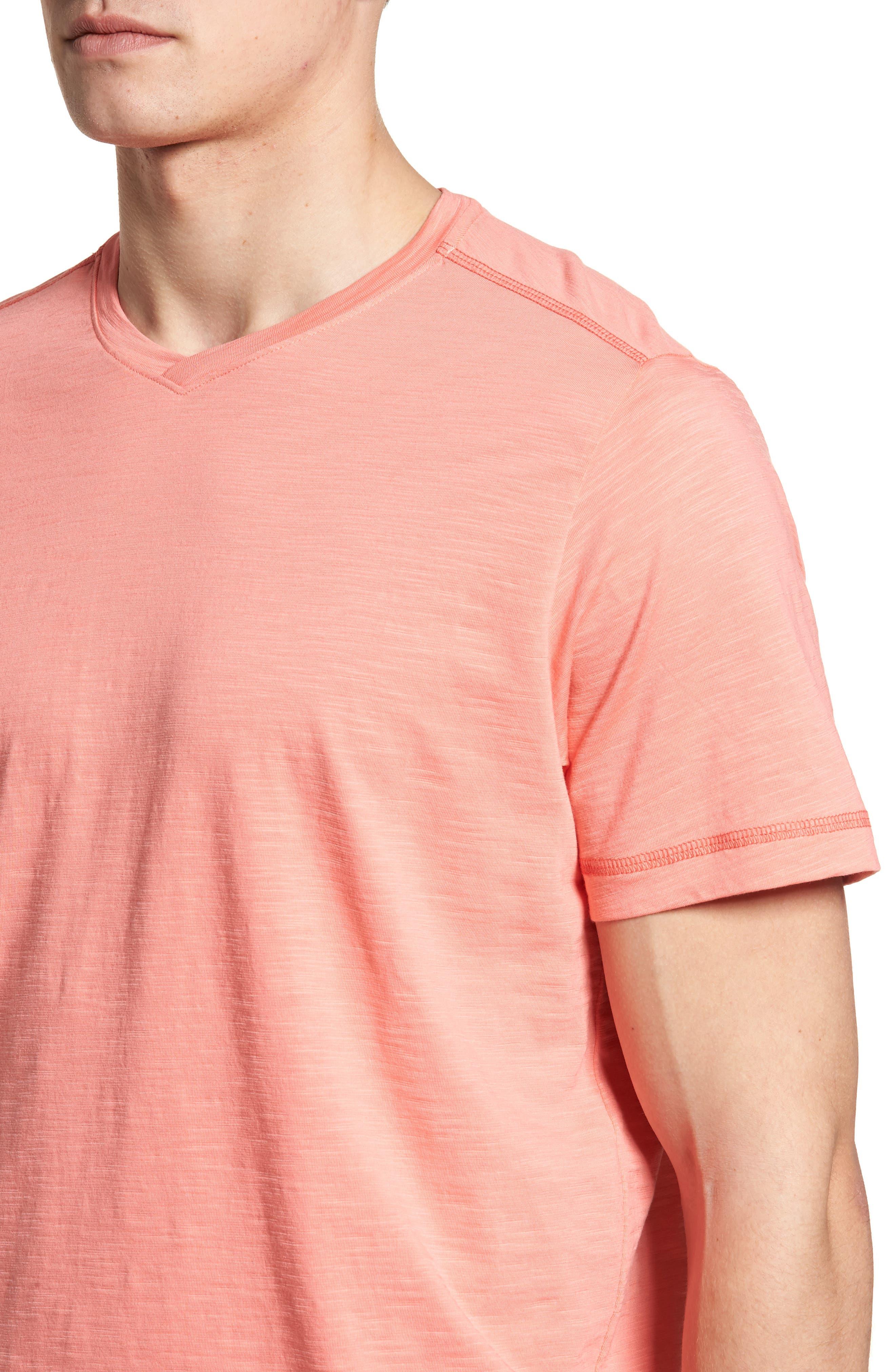 Portside Palms V-Neck T-Shirt,                             Alternate thumbnail 36, color,