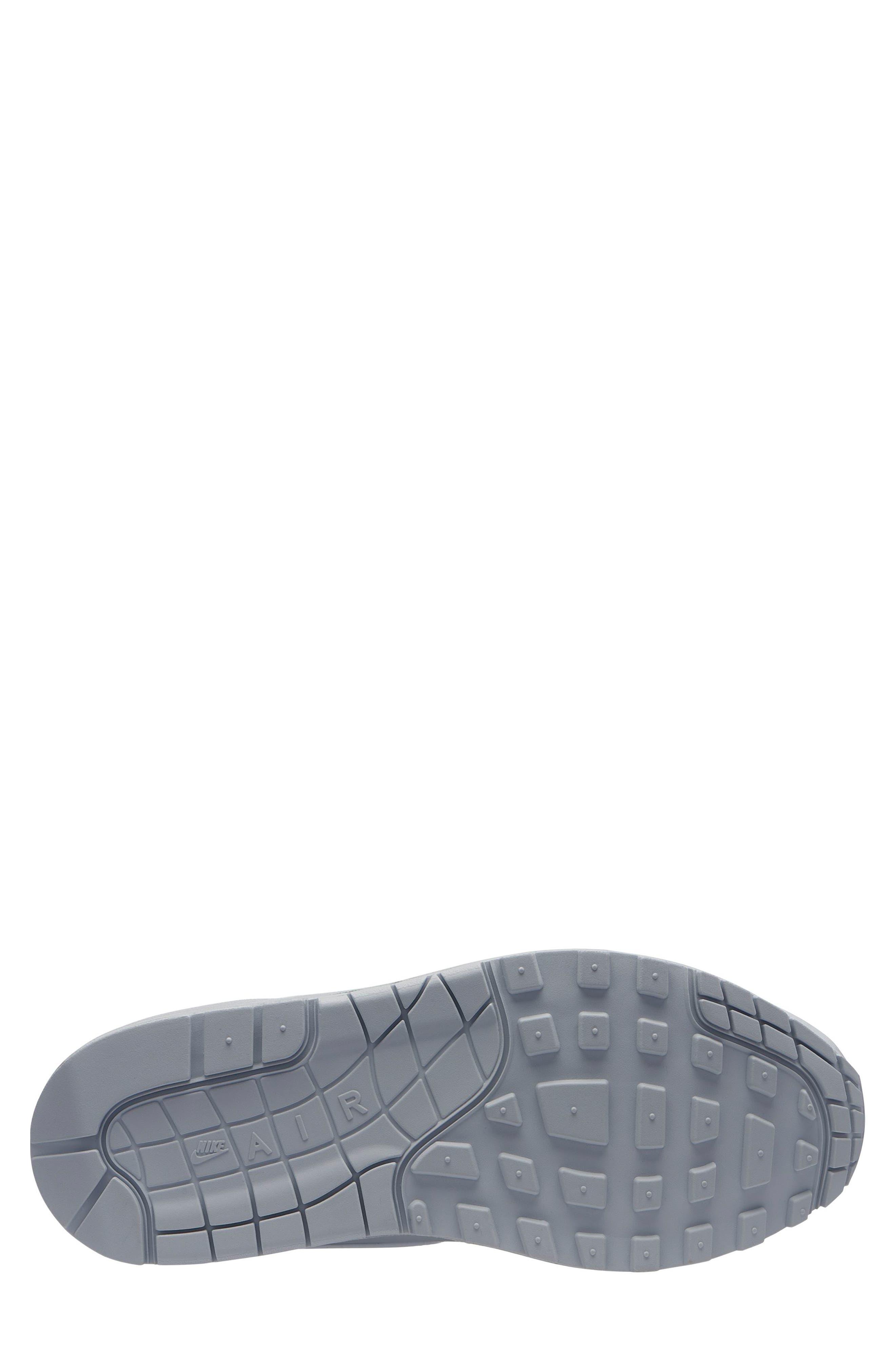Air Max 1 Lux Sneaker,                             Alternate thumbnail 2, color,                             PURE PLATINUM/ PURE PLATINUM