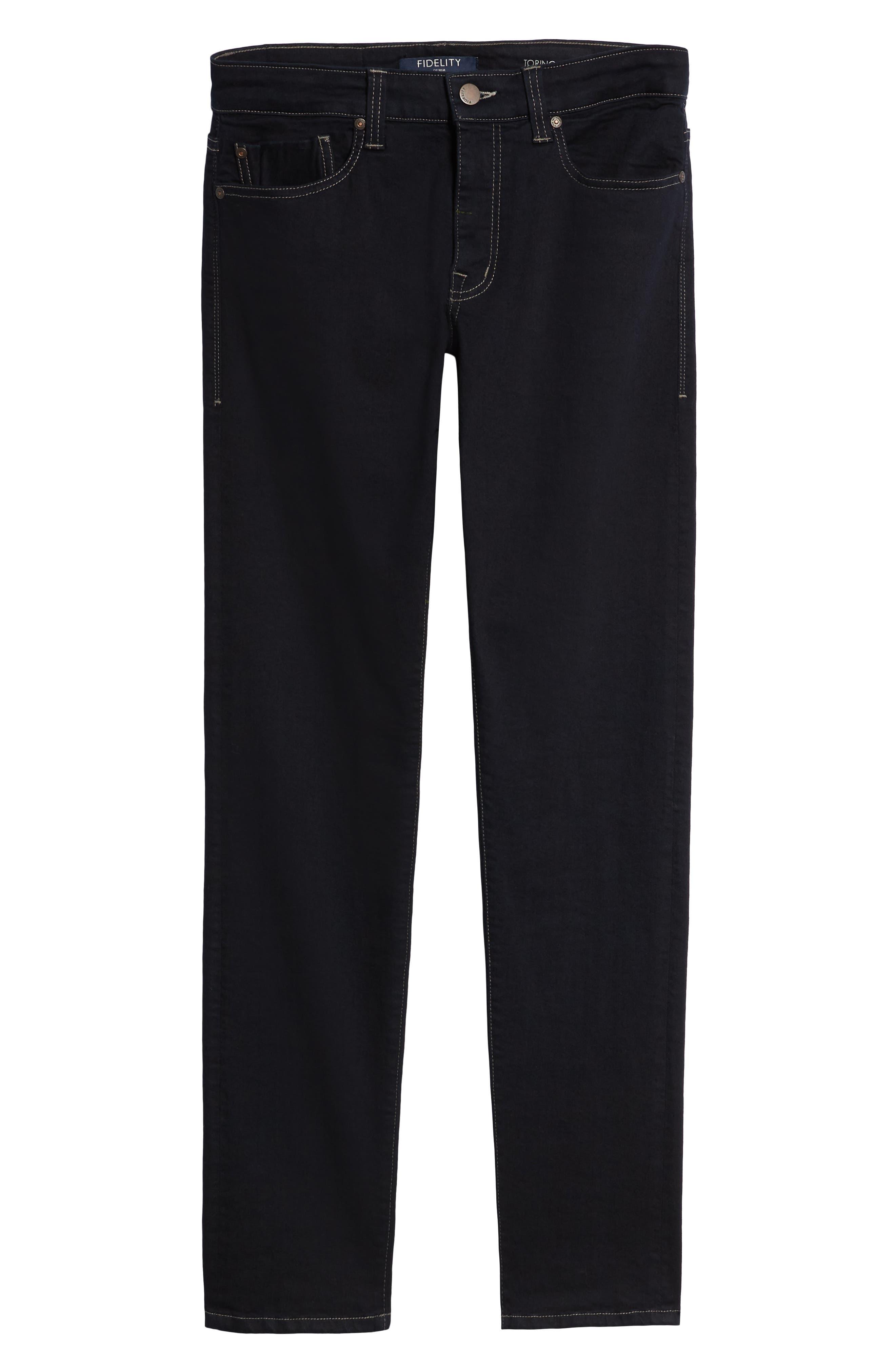 Torino Slim Fit Jeans,                             Alternate thumbnail 6, color,                             AKIRA BLUE