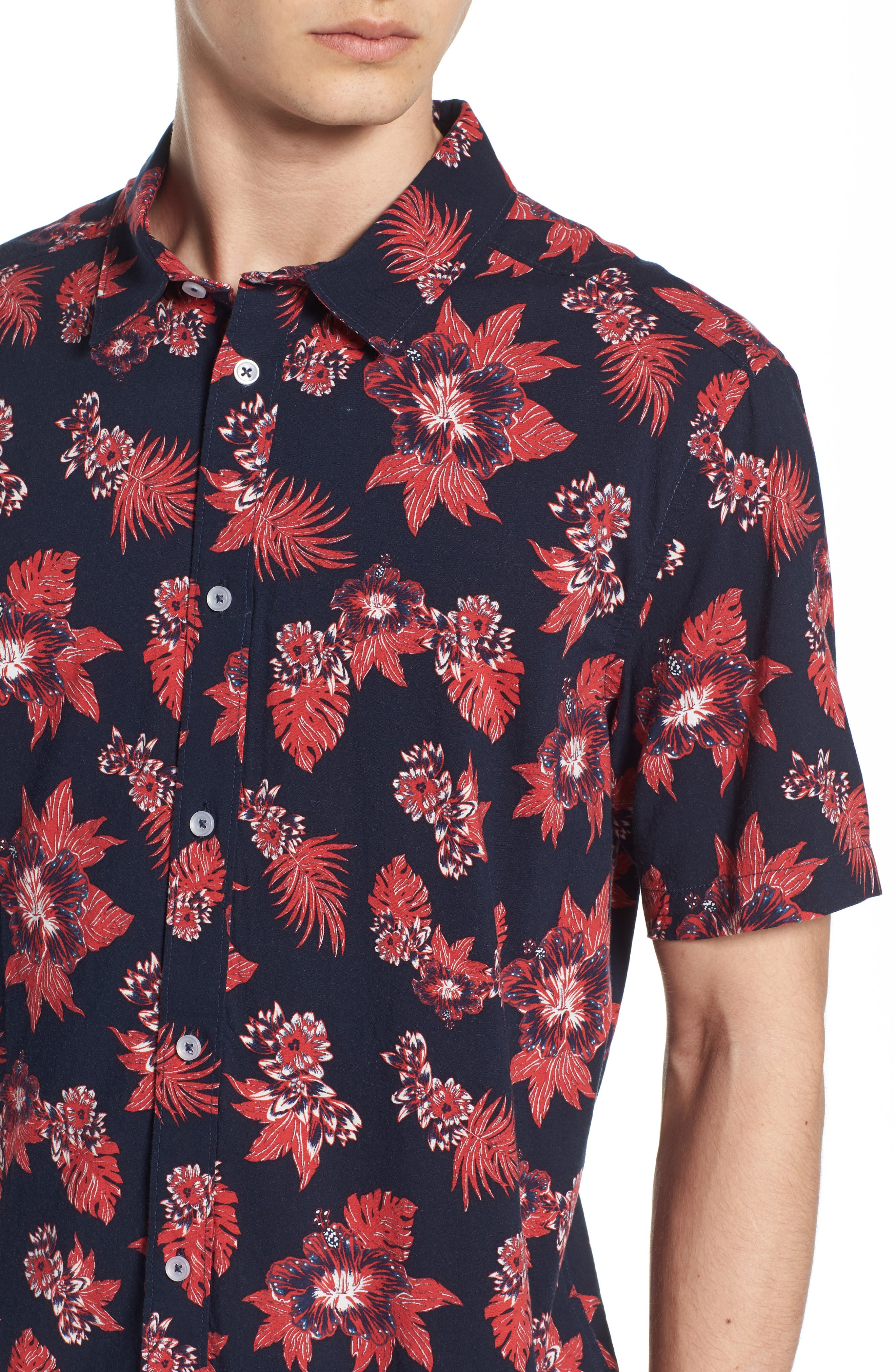McMillian Woven Shirt,                             Alternate thumbnail 4, color,                             402