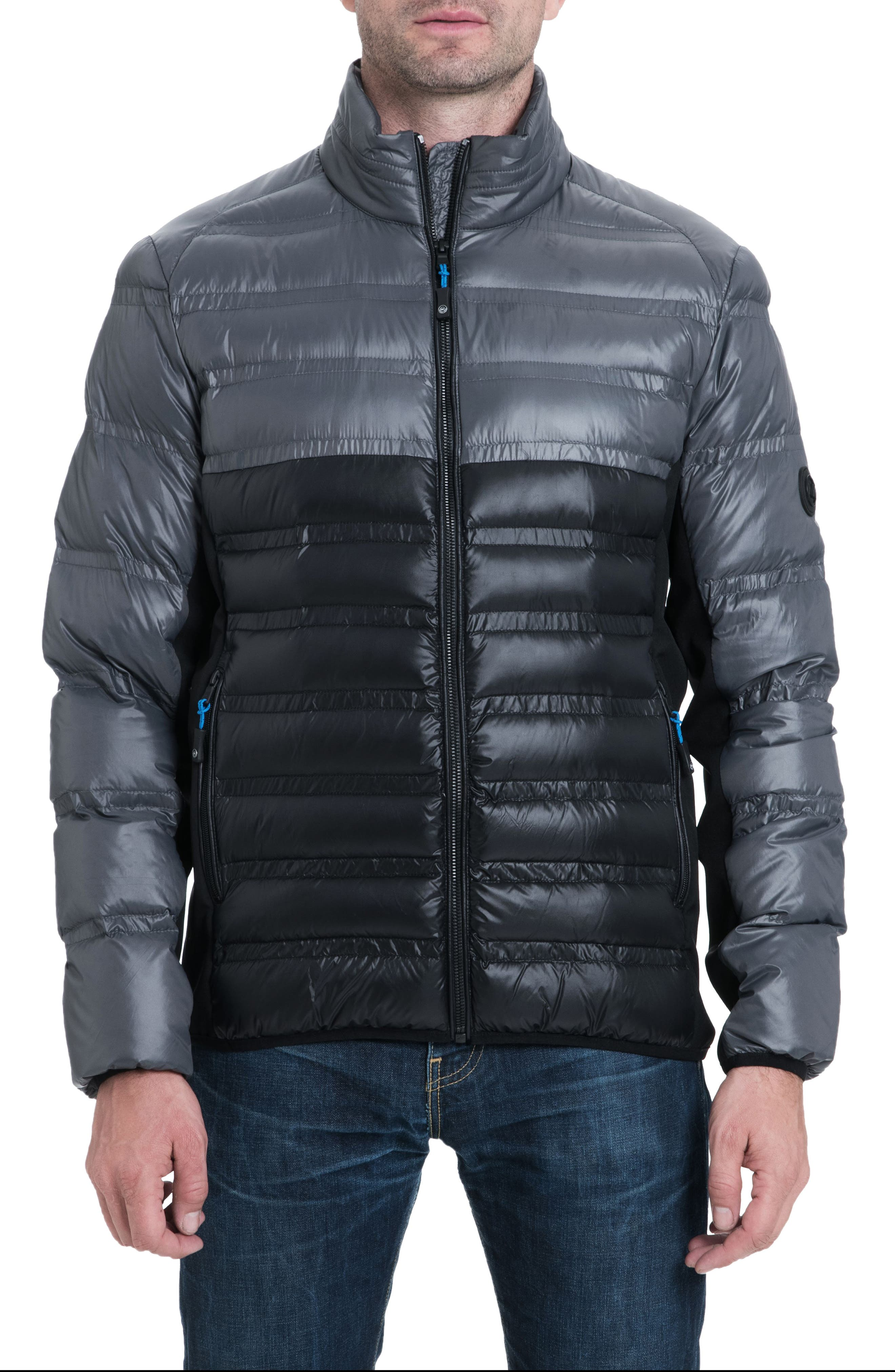 Hartwick Down Insulated Jacket, Main, color, GUNMETAL