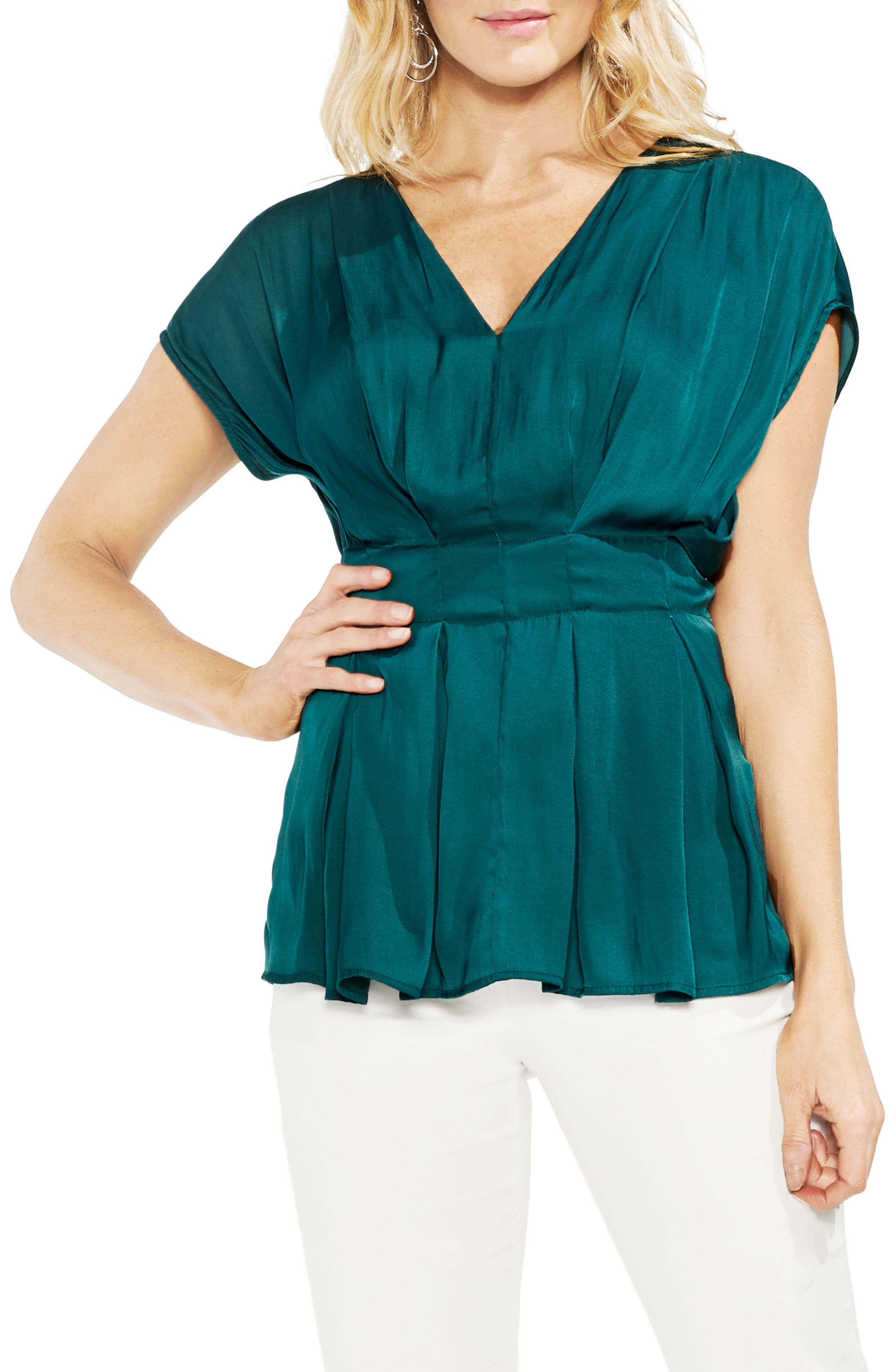 Cinched Waist Top,                         Main,                         color, 300