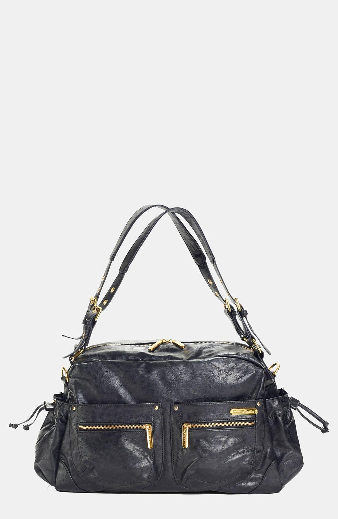 'Jessica' Diaper Bag, Main, color, 001