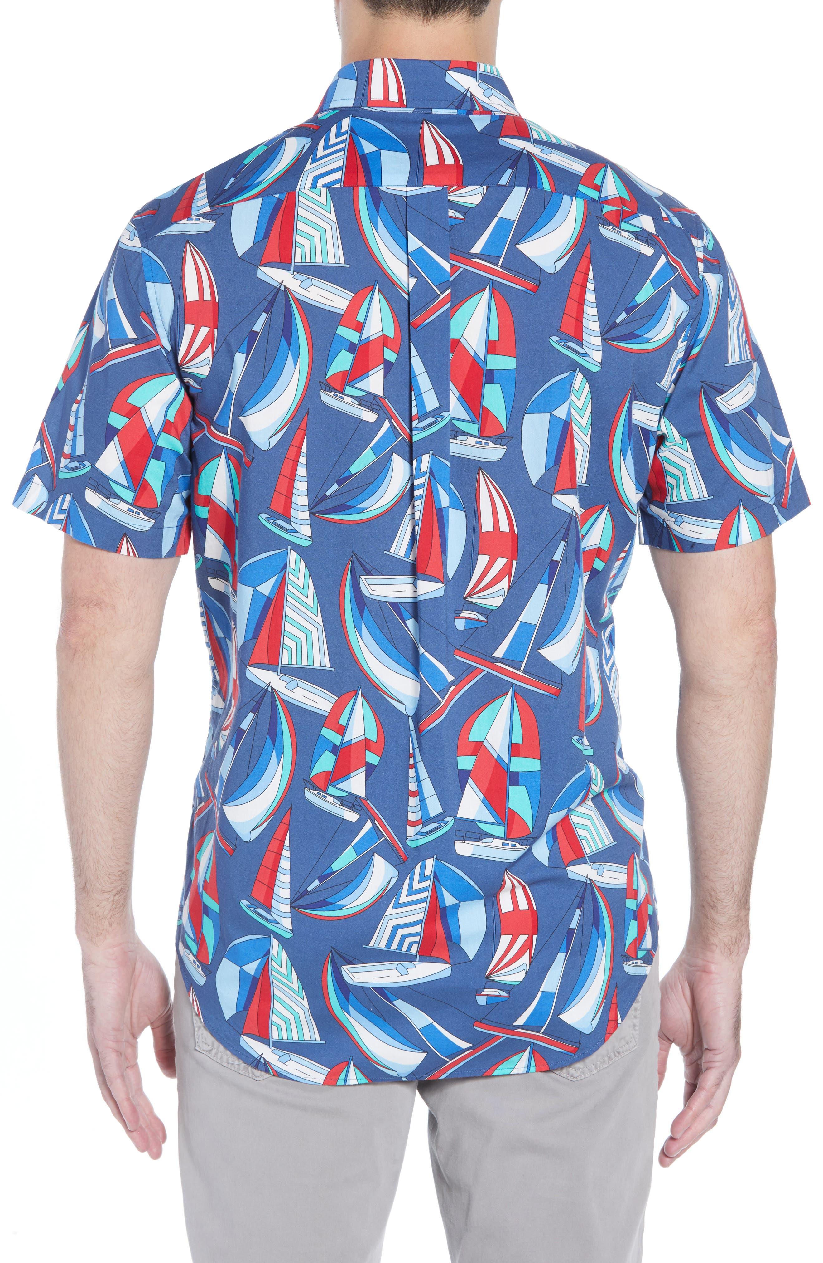 Murray Classic Fit Sport Shirt,                             Alternate thumbnail 3, color,                             461