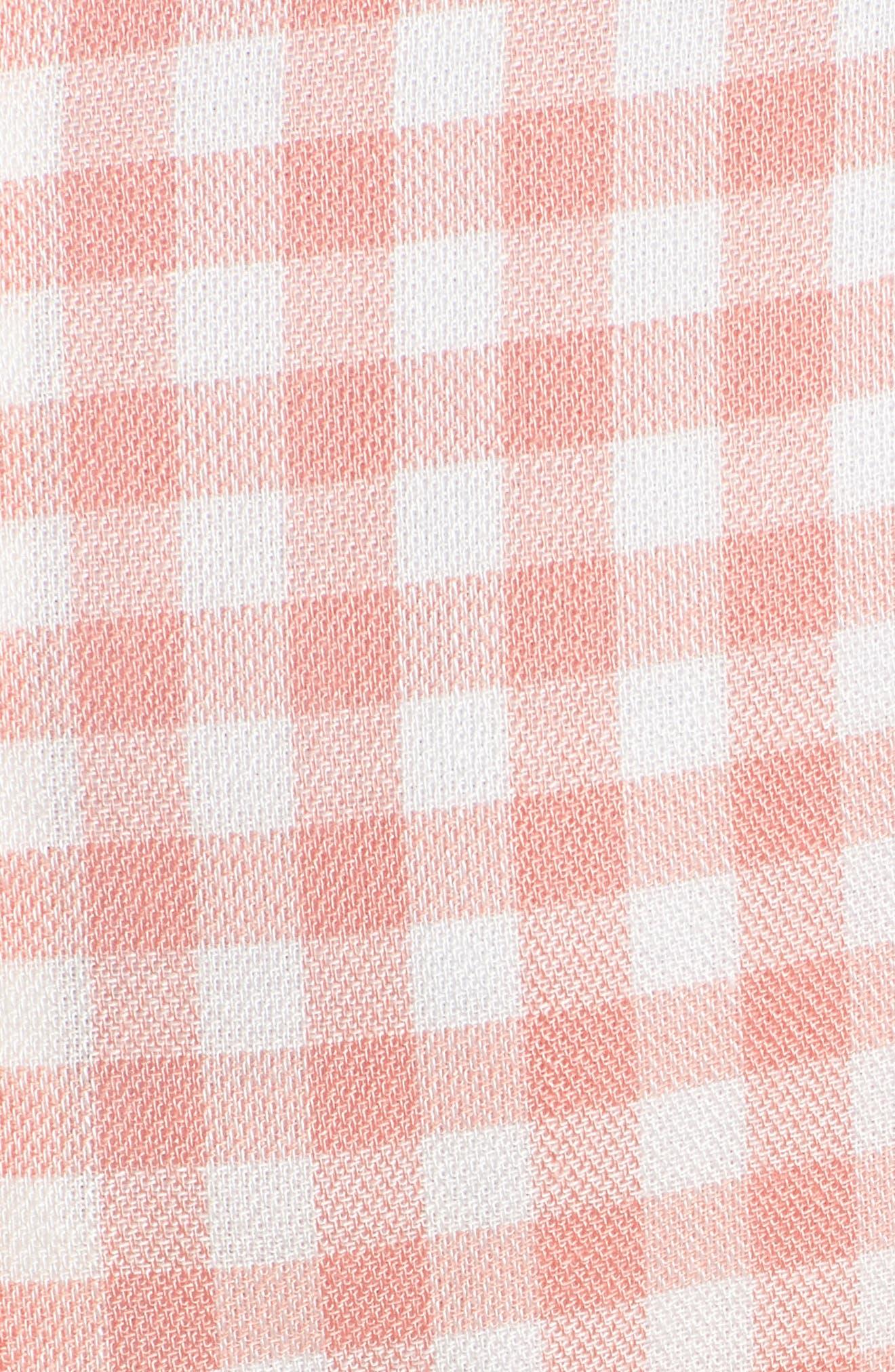 Brunch Ruffle Gingham Dress,                             Alternate thumbnail 7, color,                             693