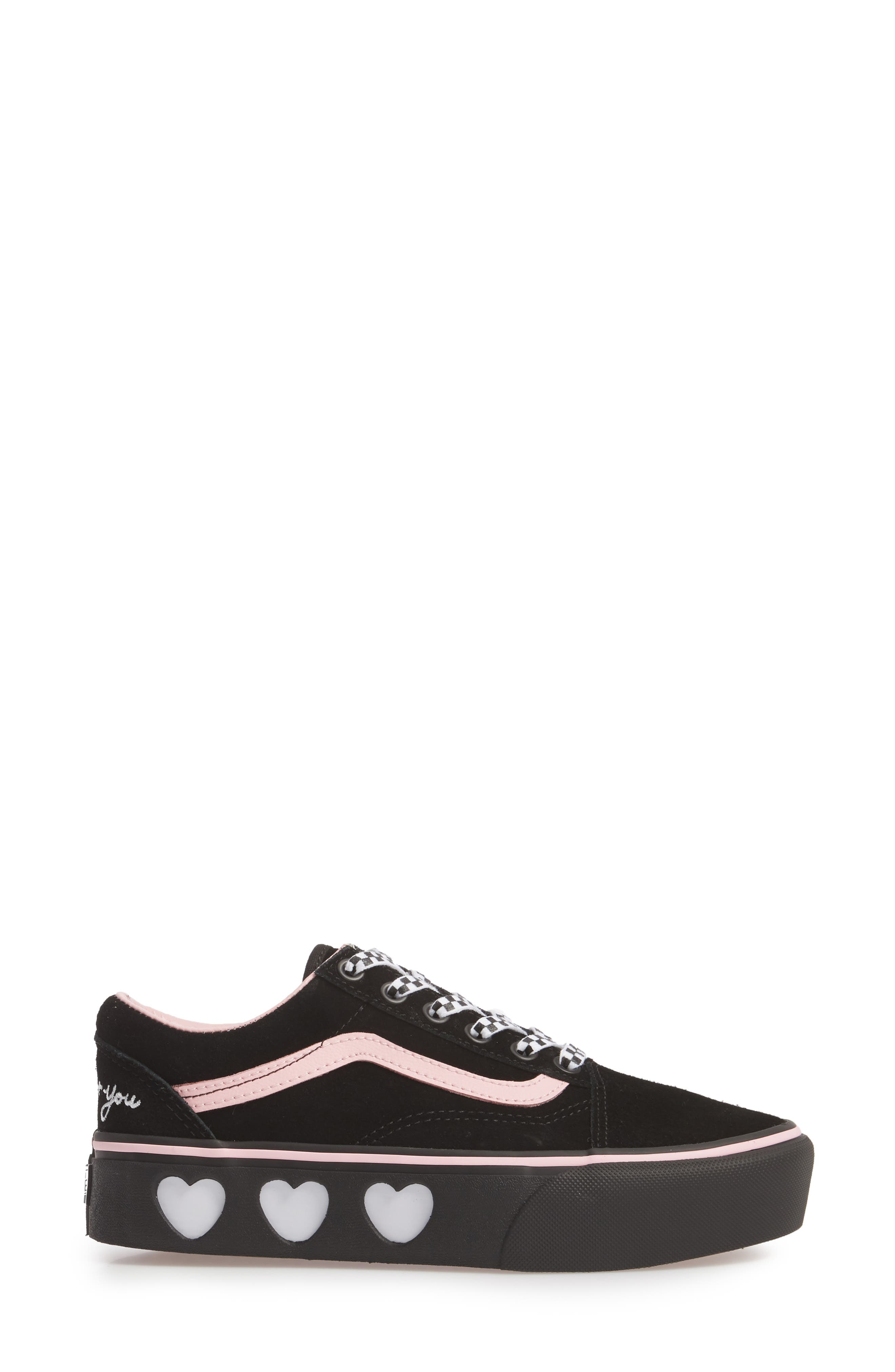 Old Skool Platform Sneaker,                             Alternate thumbnail 13, color,