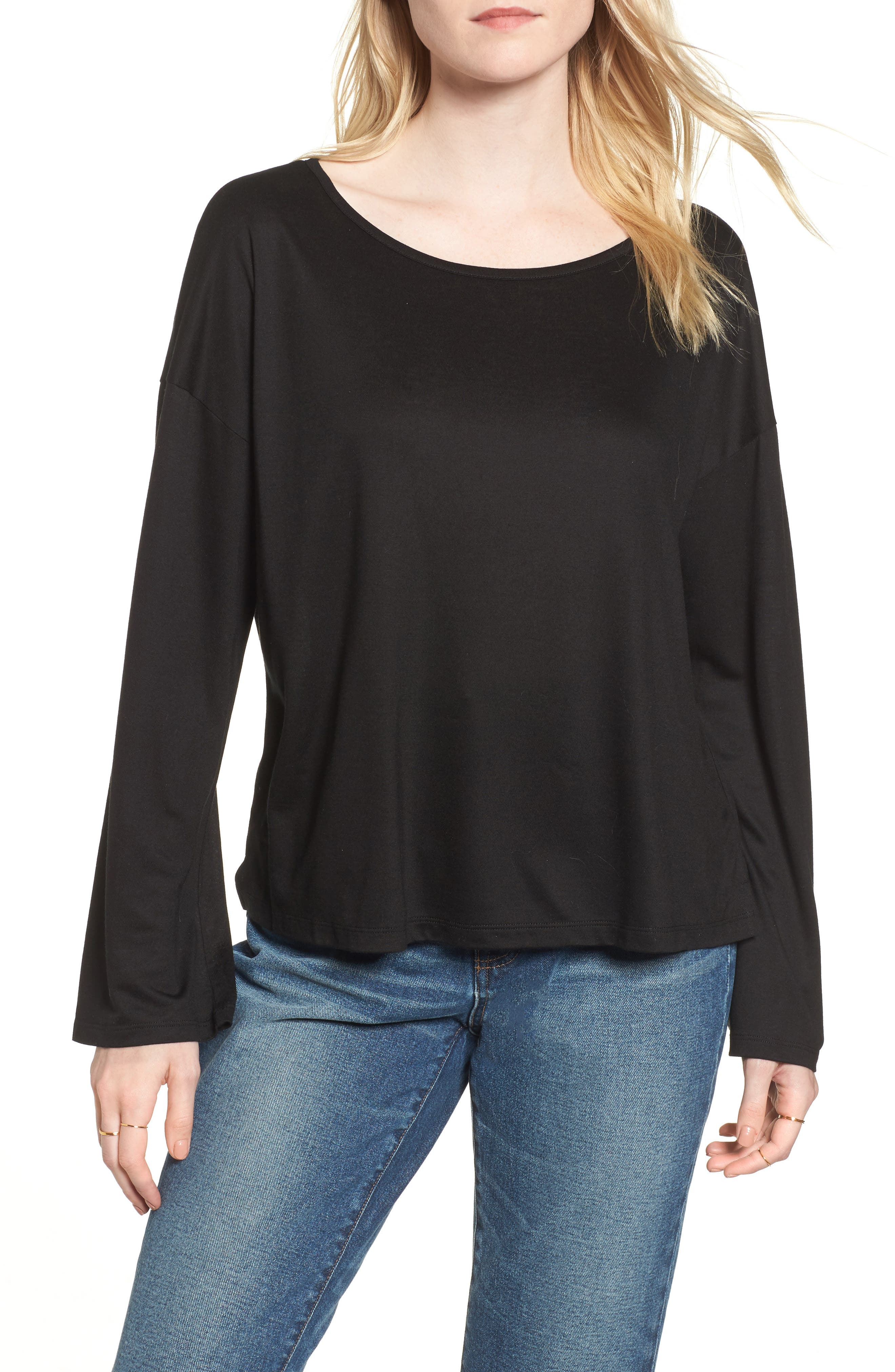 Libretto Wide Sleeve Top,                             Main thumbnail 1, color,